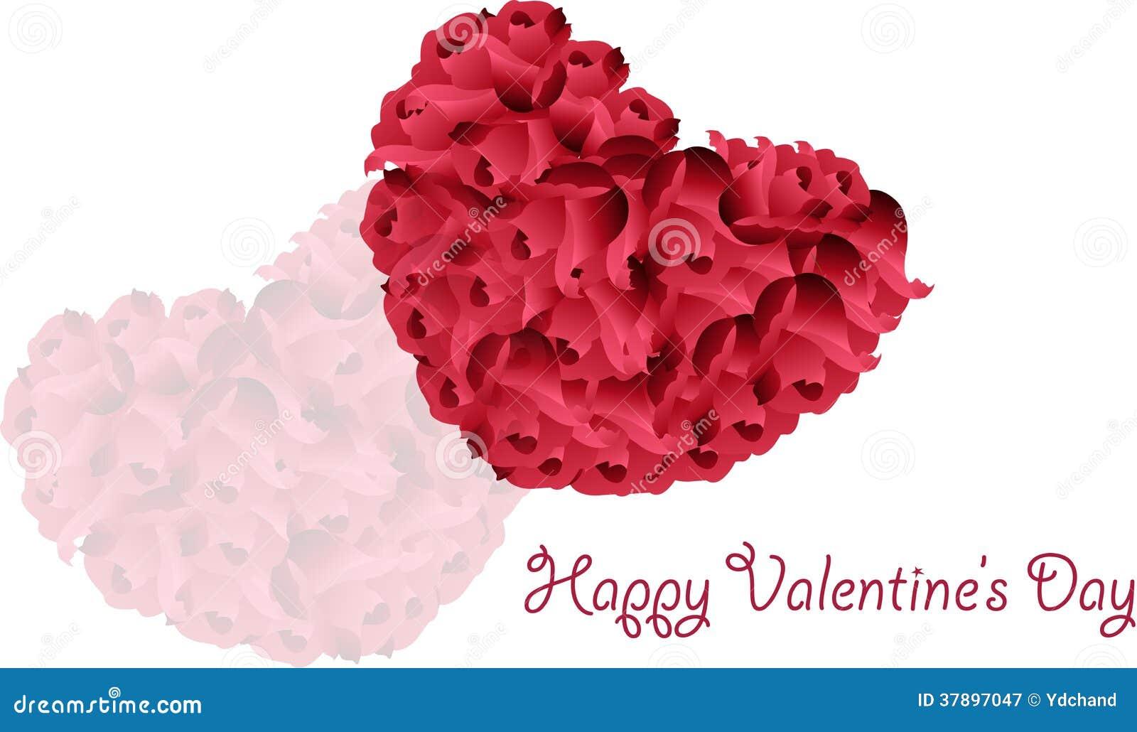 De daggroeten van Valentine