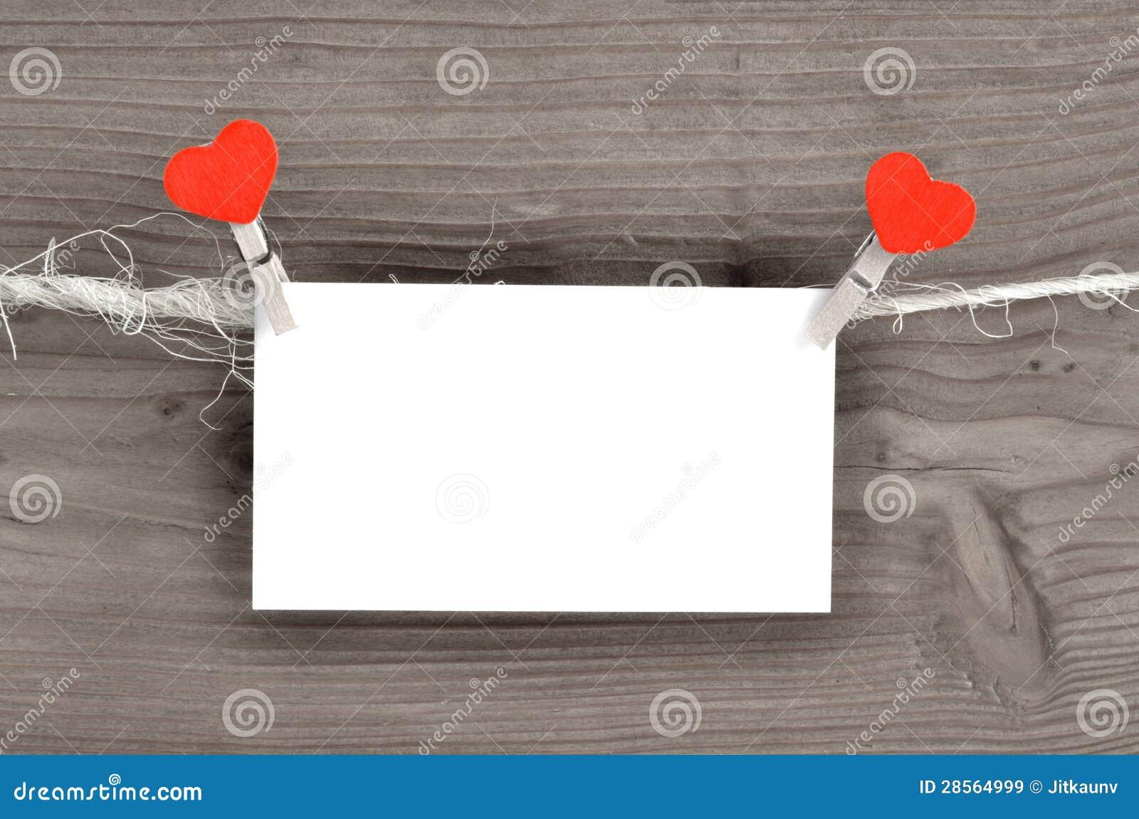 De dagkaart van de valentijnskaart