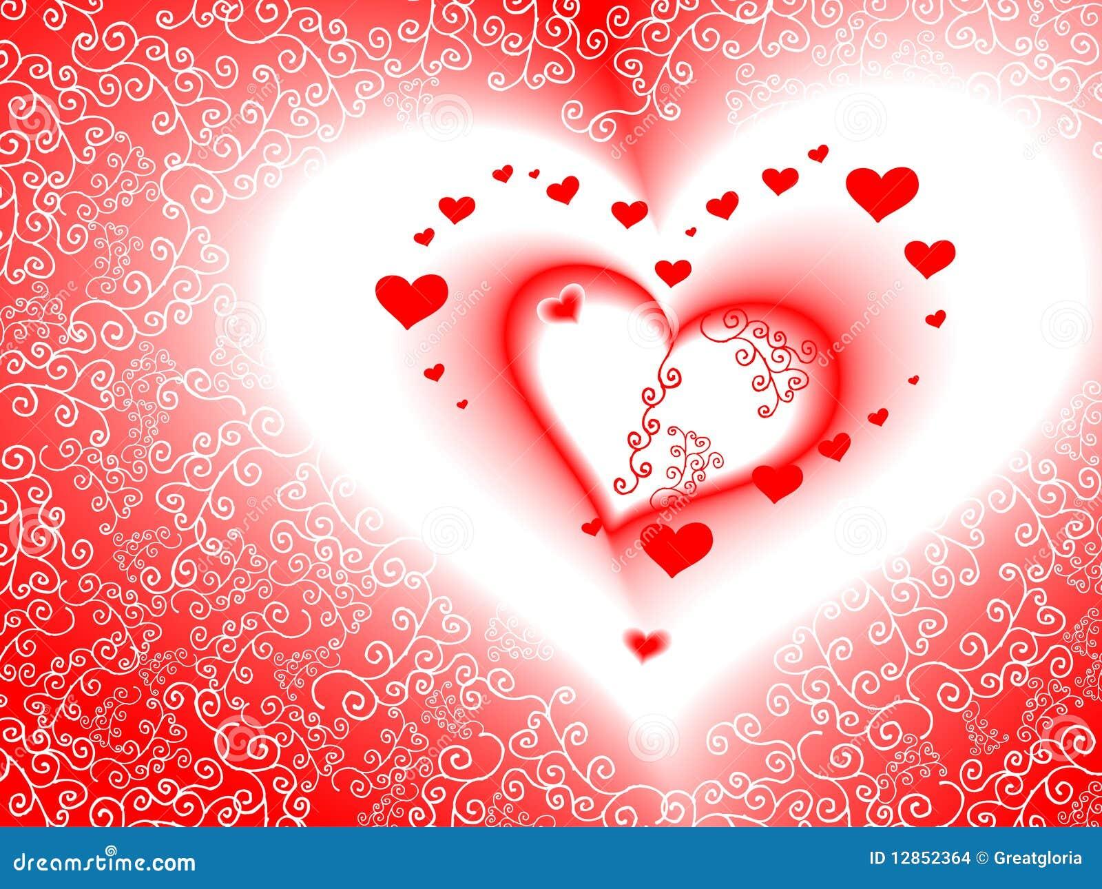 De dagkaart van de valentijnskaart vector romantisch - Romantisch idee ...