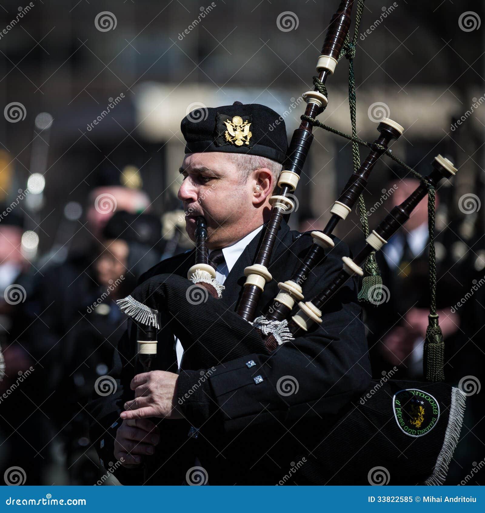 De Dagparade van heilige Patrick