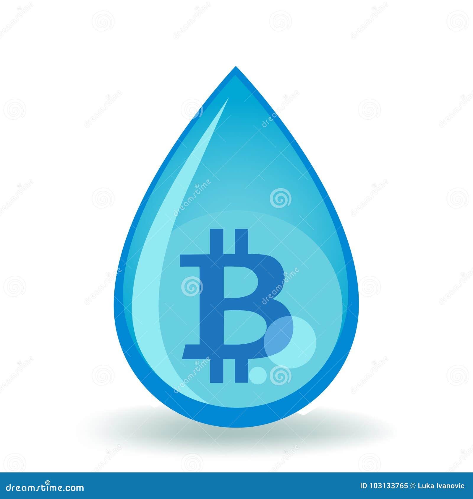 De Daling van het Bitcoinwater