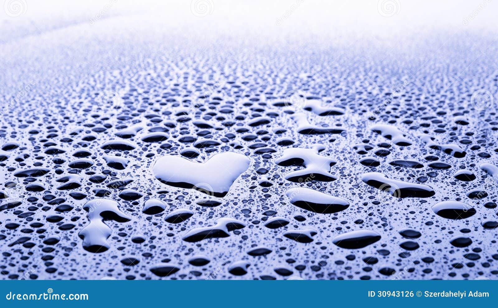 De daling van het hartwater