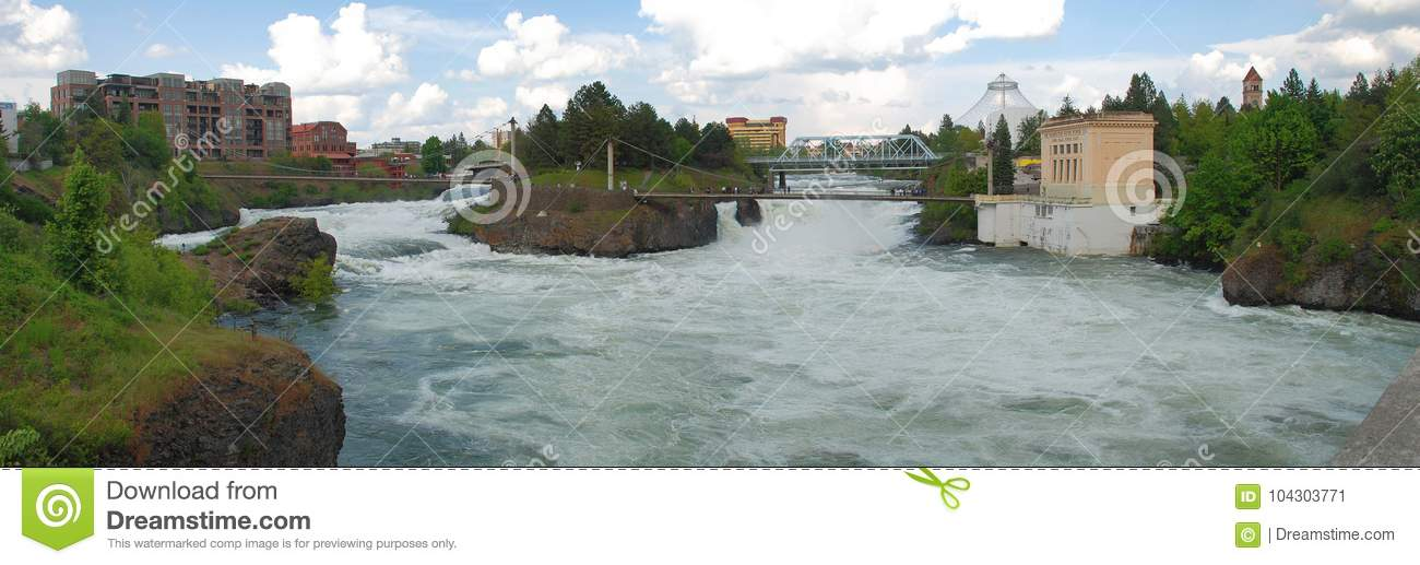 De Dalingen van Spokane - Spokane, Washington