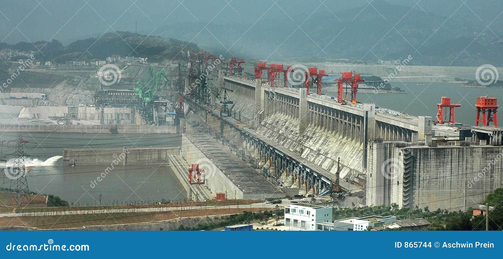 De Dam van drie Kloven
