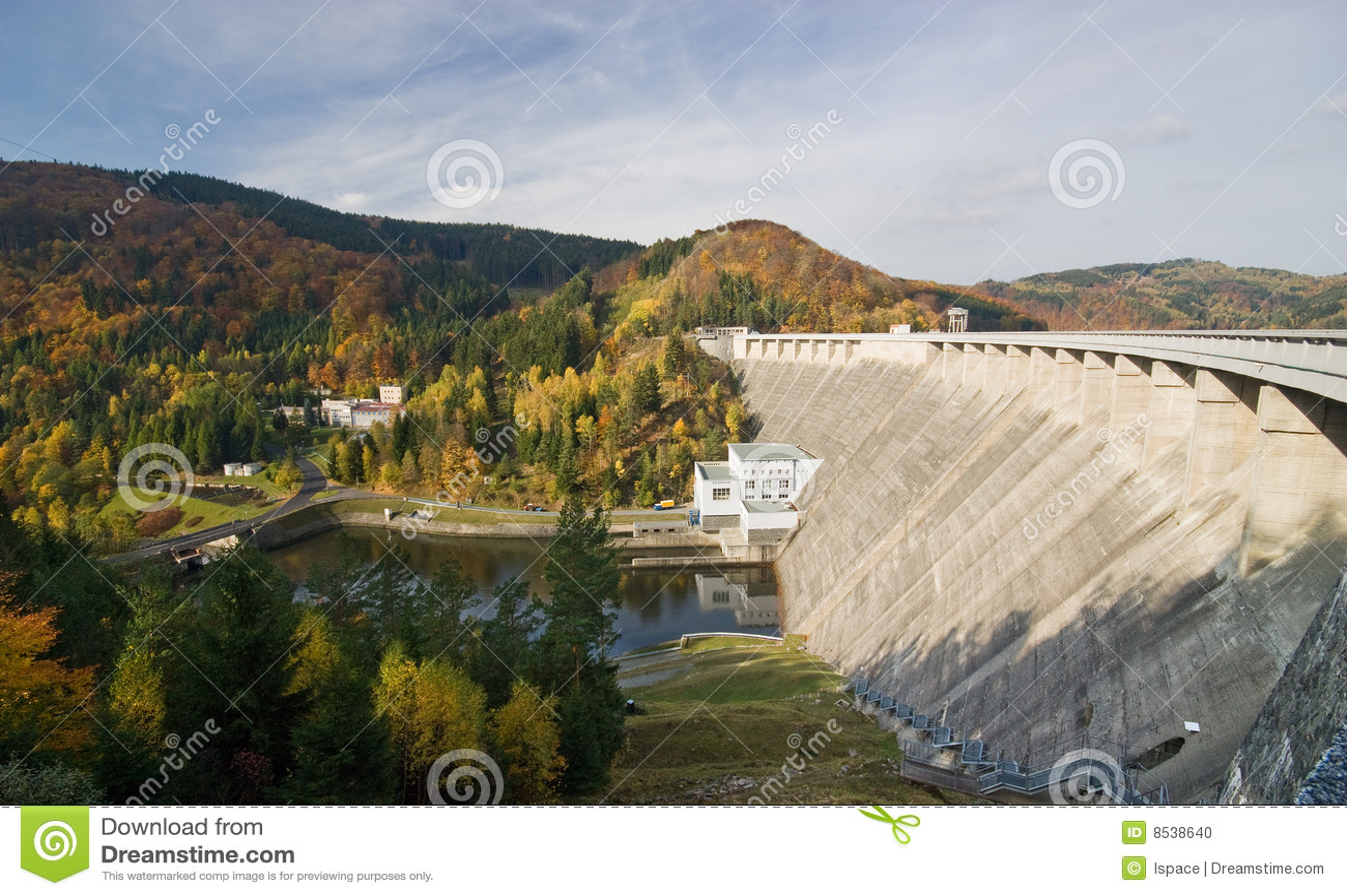 De dam van het water stock foto afbeelding bestaande uit rivier 8538640 - Groen behang van het water ...