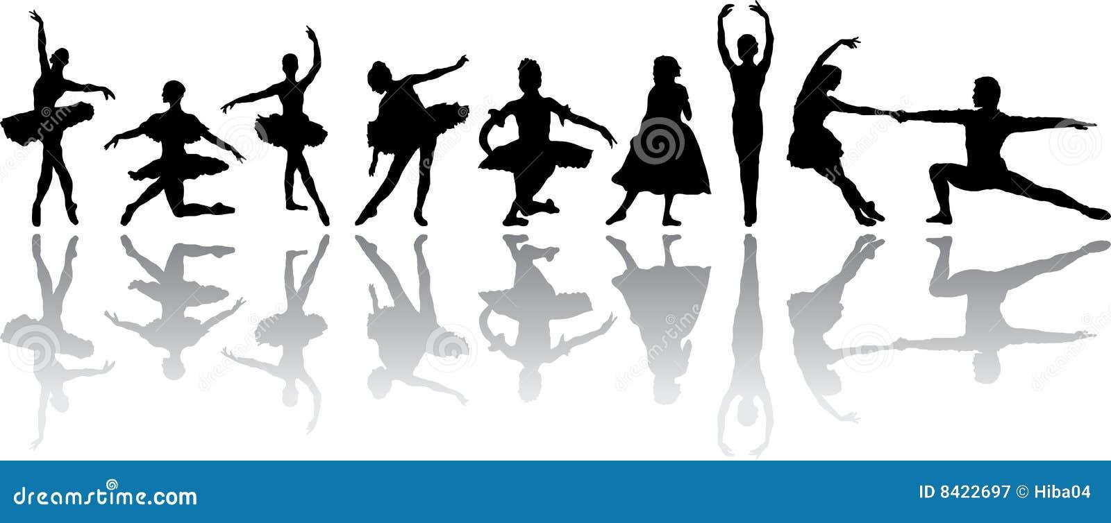De Dans van het ballet