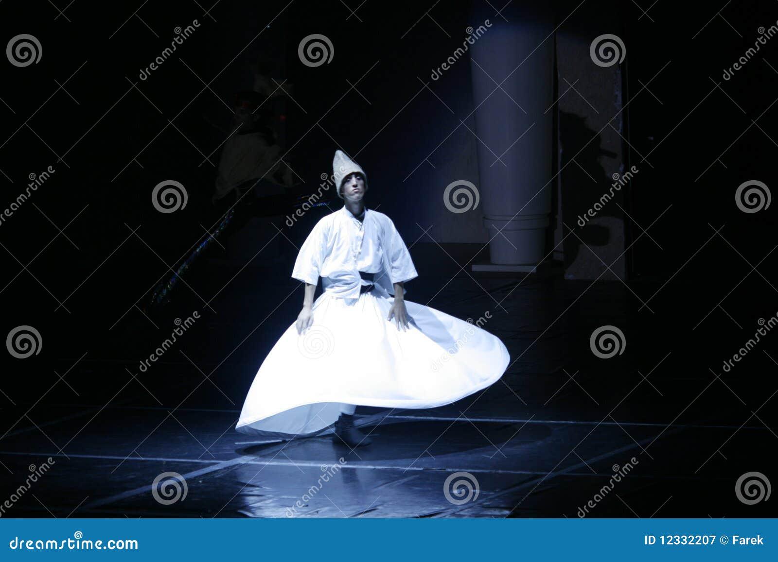 De dans van het derwisj