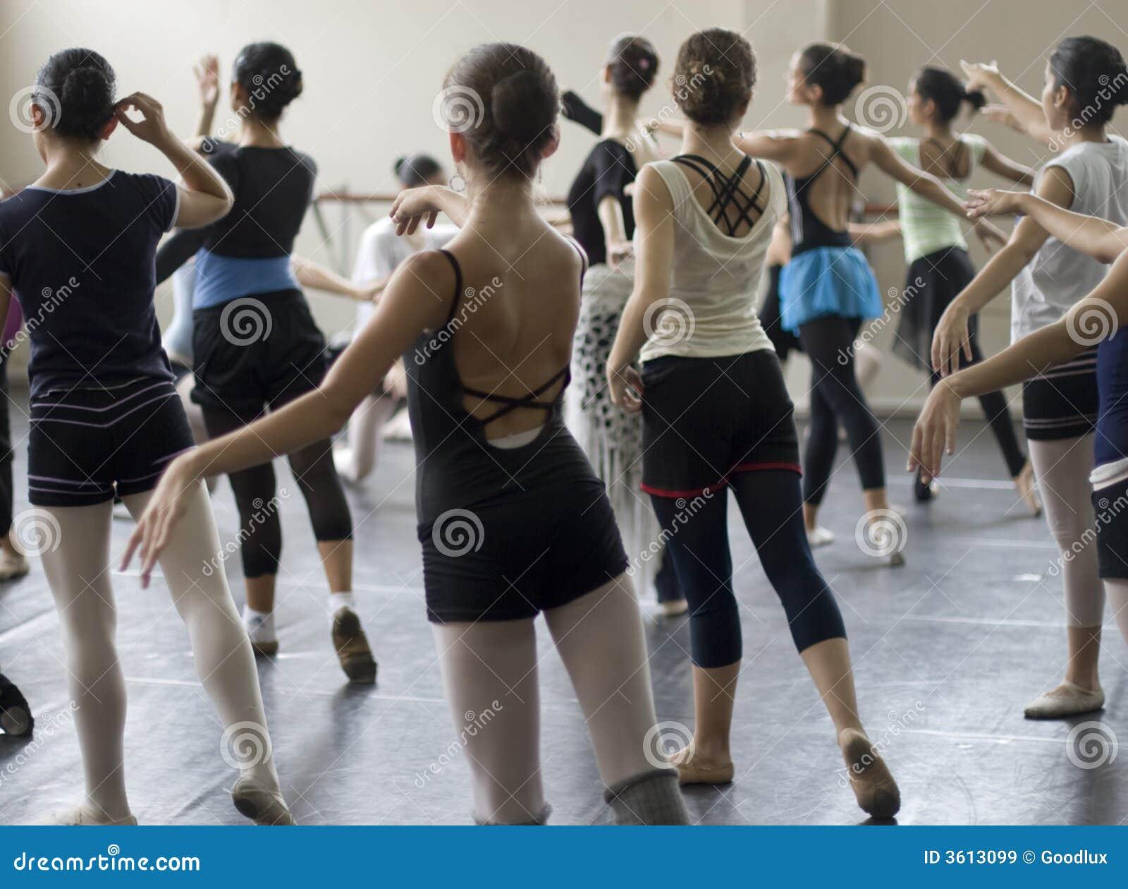 De danspraktijk van het ballet