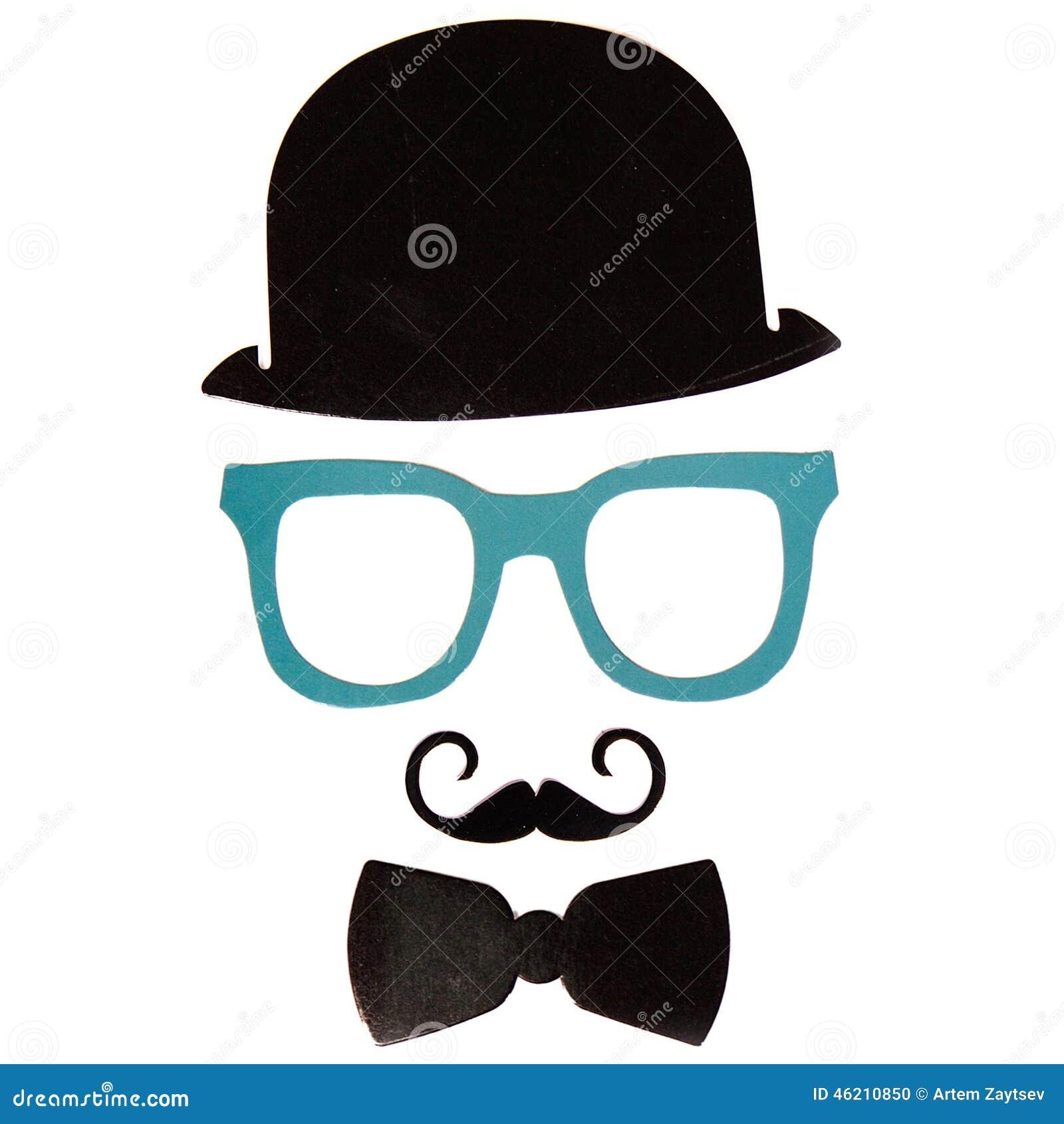 De de Photoboothverjaardag en Partij plaatsen - glazen, hoeden, kronen, maskers