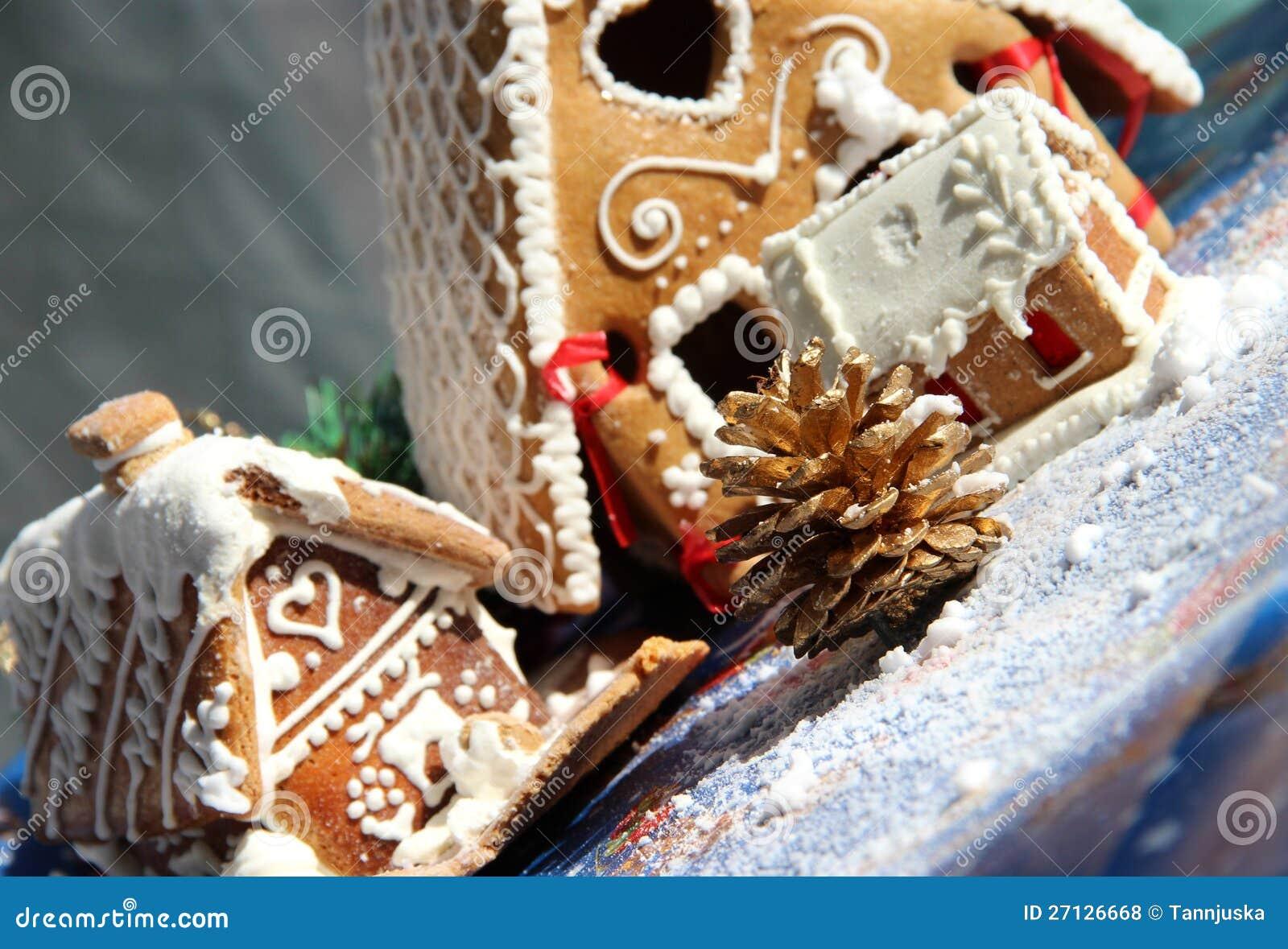 De decoratie en de snoepjes van kerstmis stock foto afbeelding 27126668 - Foto van decoratie ...