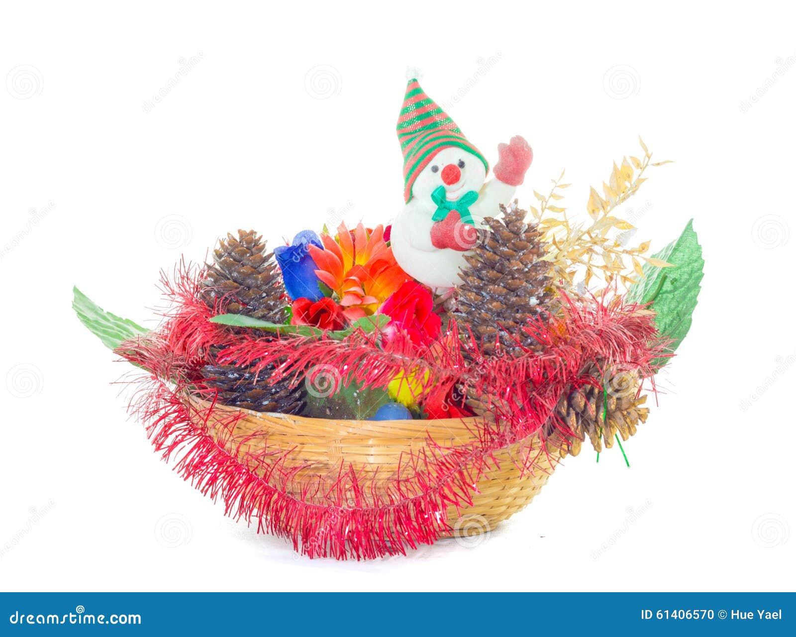 De decoratie van afvalkerstmis stock foto afbeelding 61406570 - Foto van decoratie ...