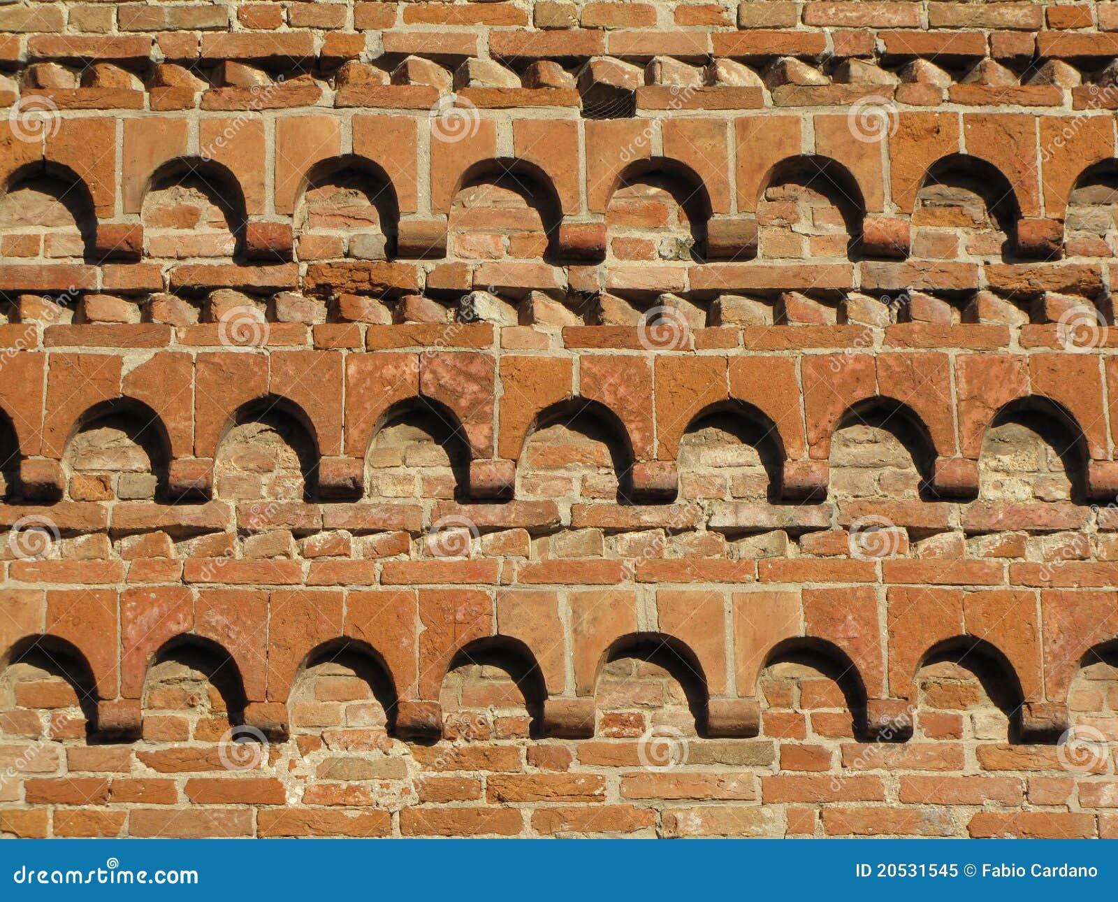 De decoratie van de baksteen royalty vrije stock foto afbeelding 20531545 - Foto van decoratie ...