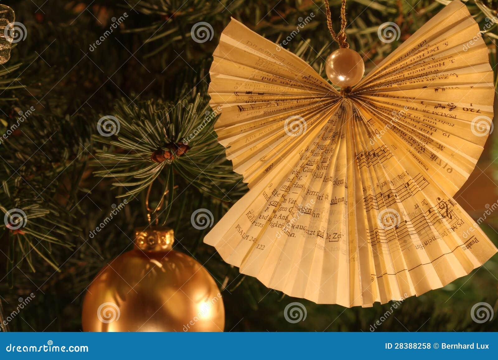 De decoratie van de engel van de kerstboom stock foto afbeelding 28388258 - Decoratie van de villas ...