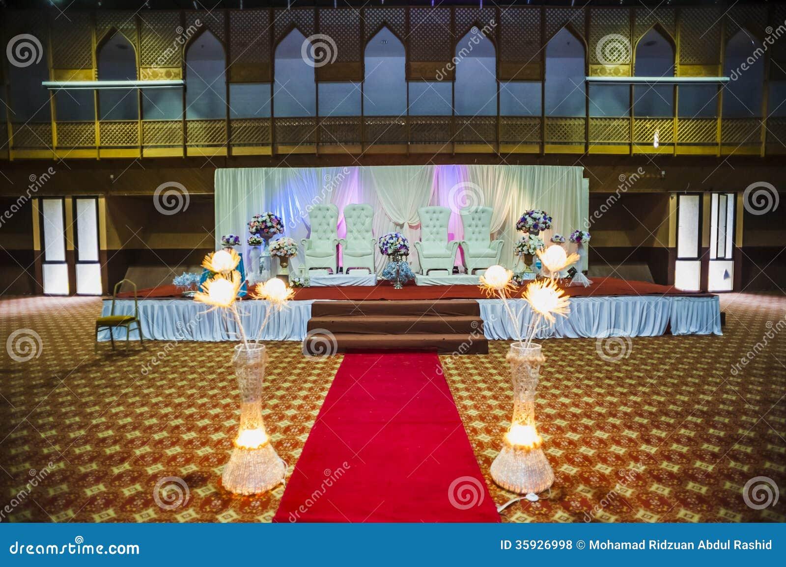 De decoratie van de huwelijkszaal stock foto afbeelding 35926998 - Decoratie van de villas ...