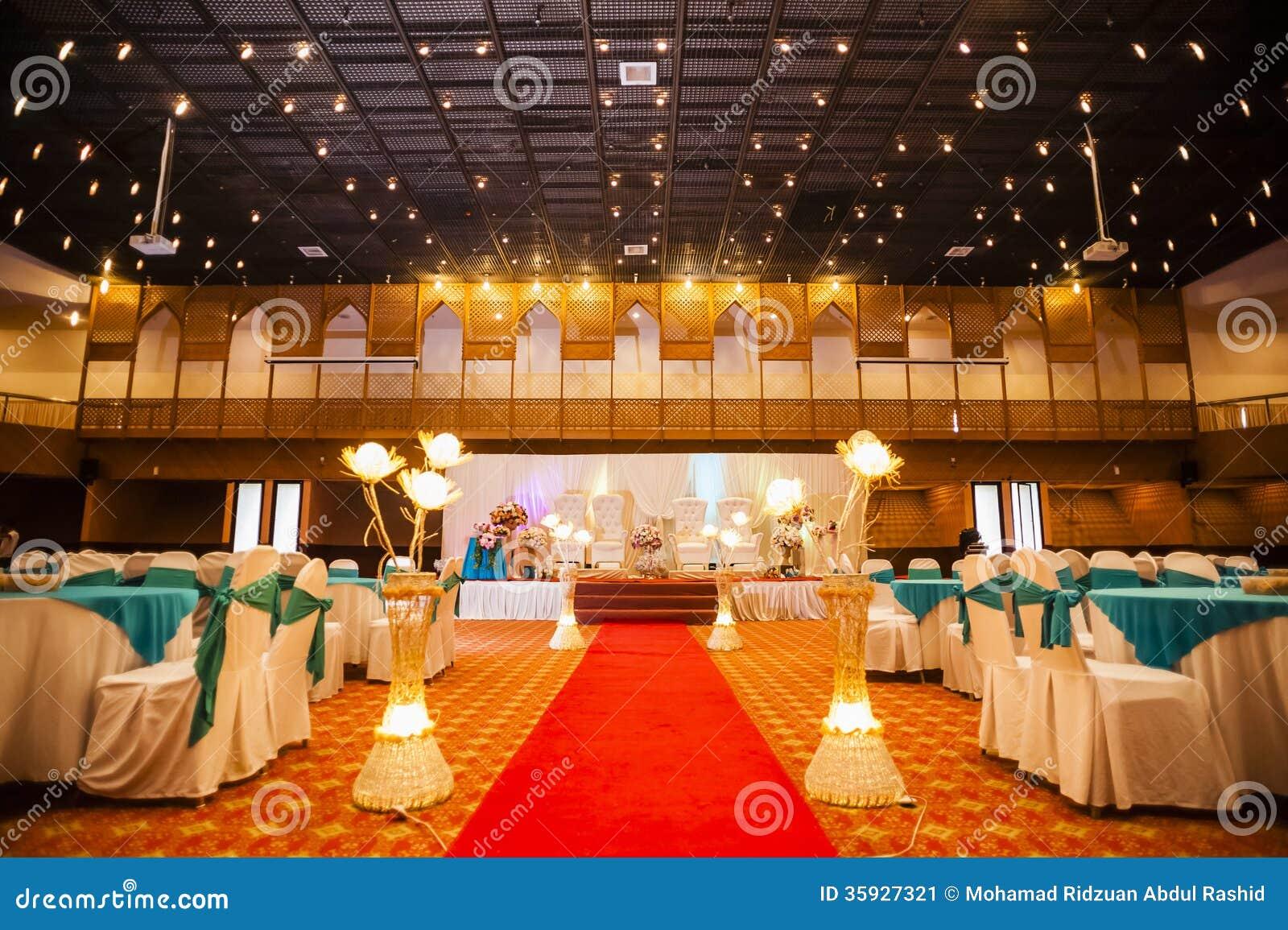 De decoratie van de huwelijkszaal stock afbeelding afbeelding 35927321 - Decoratie van de villas ...