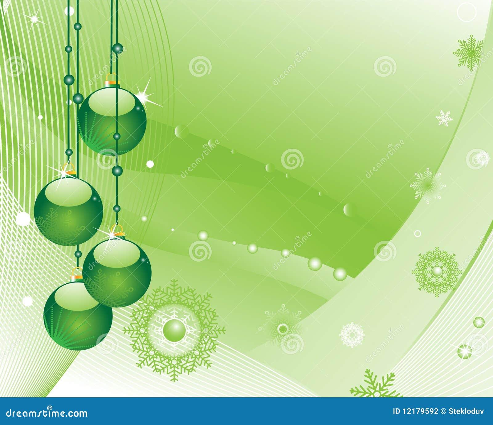 De decoratie van de kerstboom op een groene achtergrond vector illustratie afbeelding 12179592 - Decoratie van een terras ...