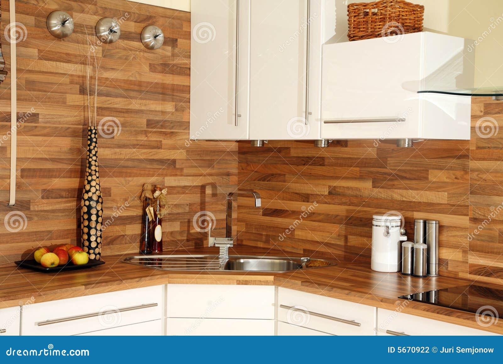 De decoratie van de keuken. stock foto afbeelding bestaande uit