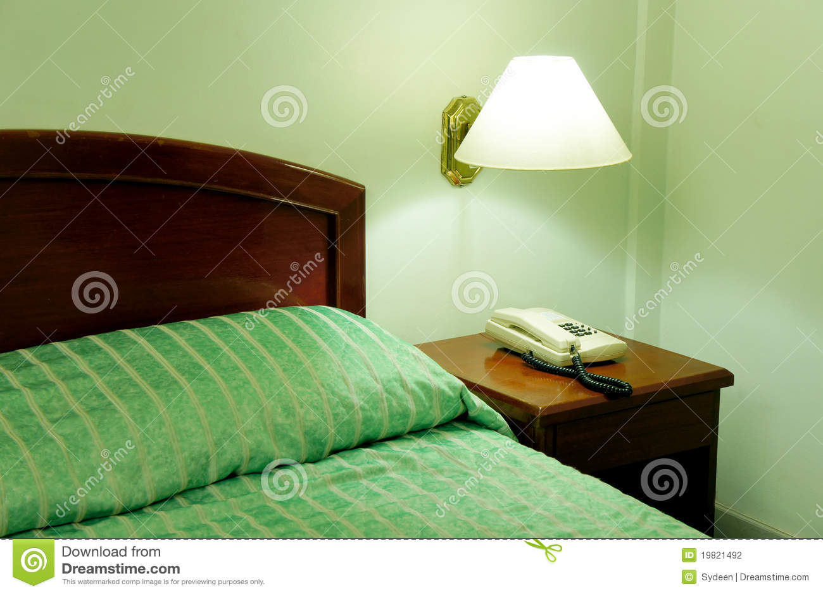 De decoratie van de slaapkamer stock fotografie - Decoratie van slaapkamers ...