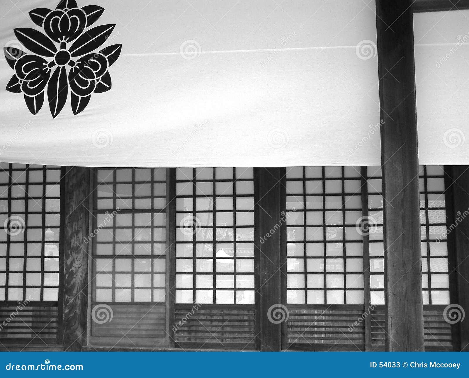De decoratie van de tempel.