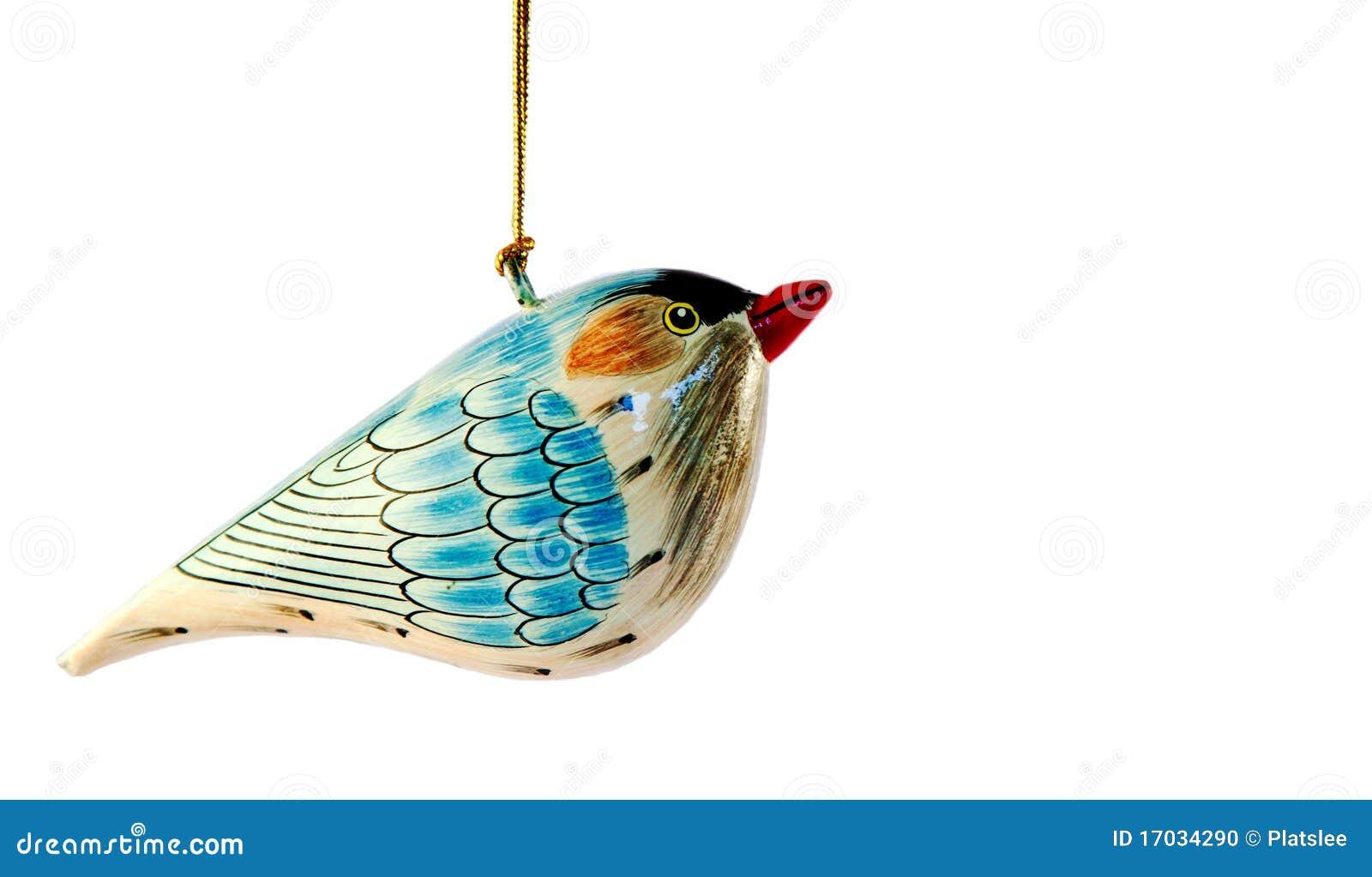 De decoratie van de vogel van kerstmis stock foto afbeelding 17034290 - Decoratie van toiletten ...
