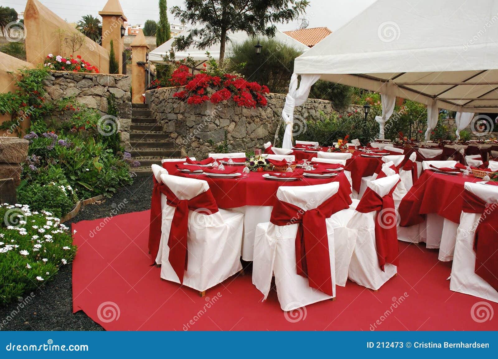 De decoratie van het huwelijk stock afbeelding