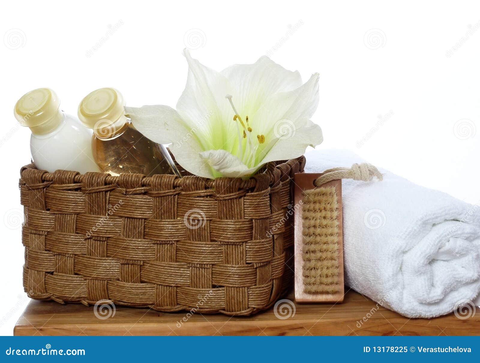 De decoratie van het kuuroord zeep lotion handdoek royalty vrije stock foto afbeelding - Decoratie van de villas ...