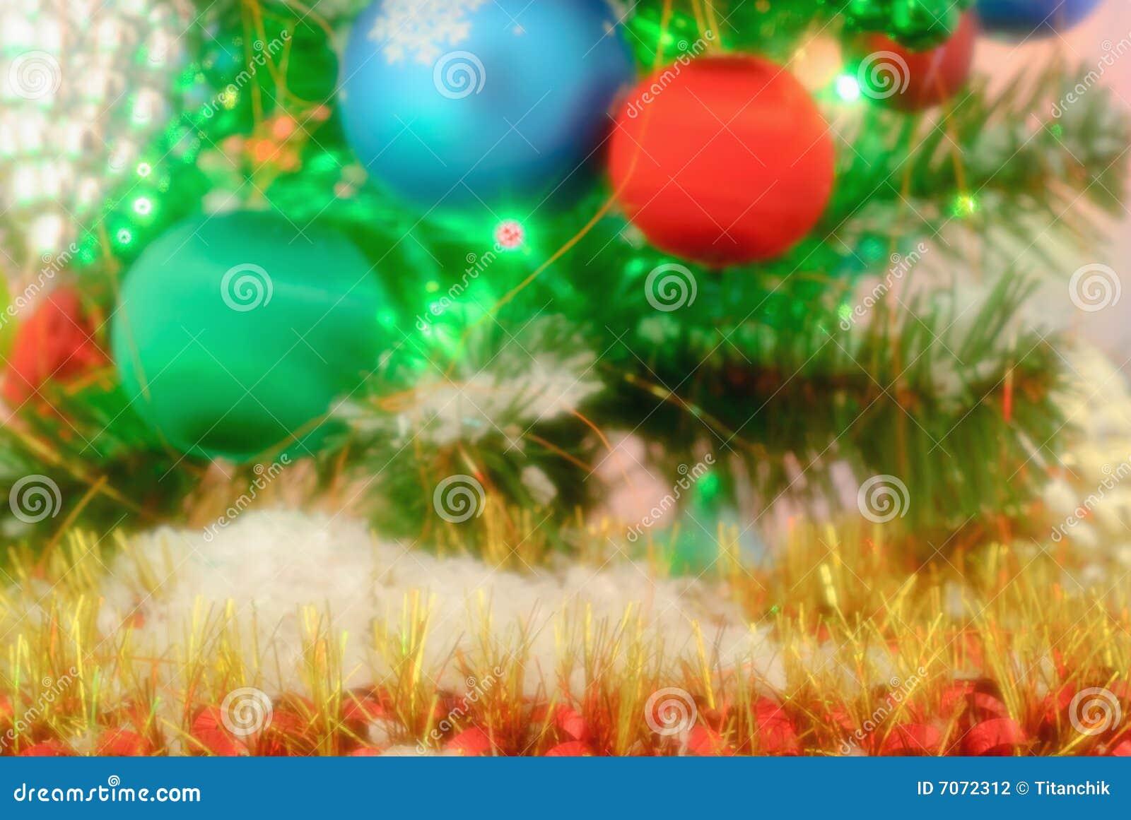 De decoratie van het nieuwjaar stock foto afbeelding 7072312 - Decoratie van de villas ...