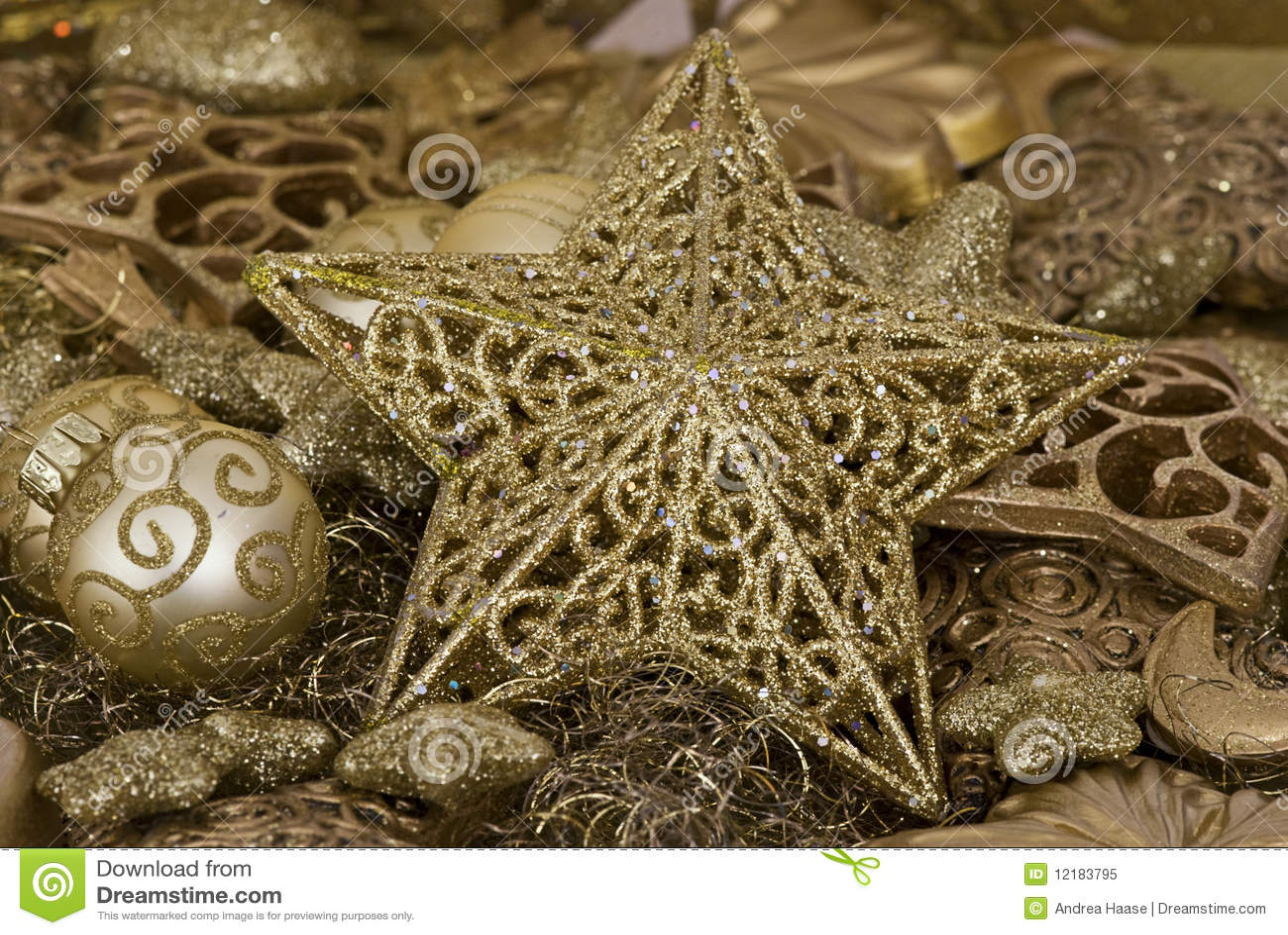 De decoratie van kerstmis royalty vrije stock foto afbeelding 12183795 - Foto van decoratie ...