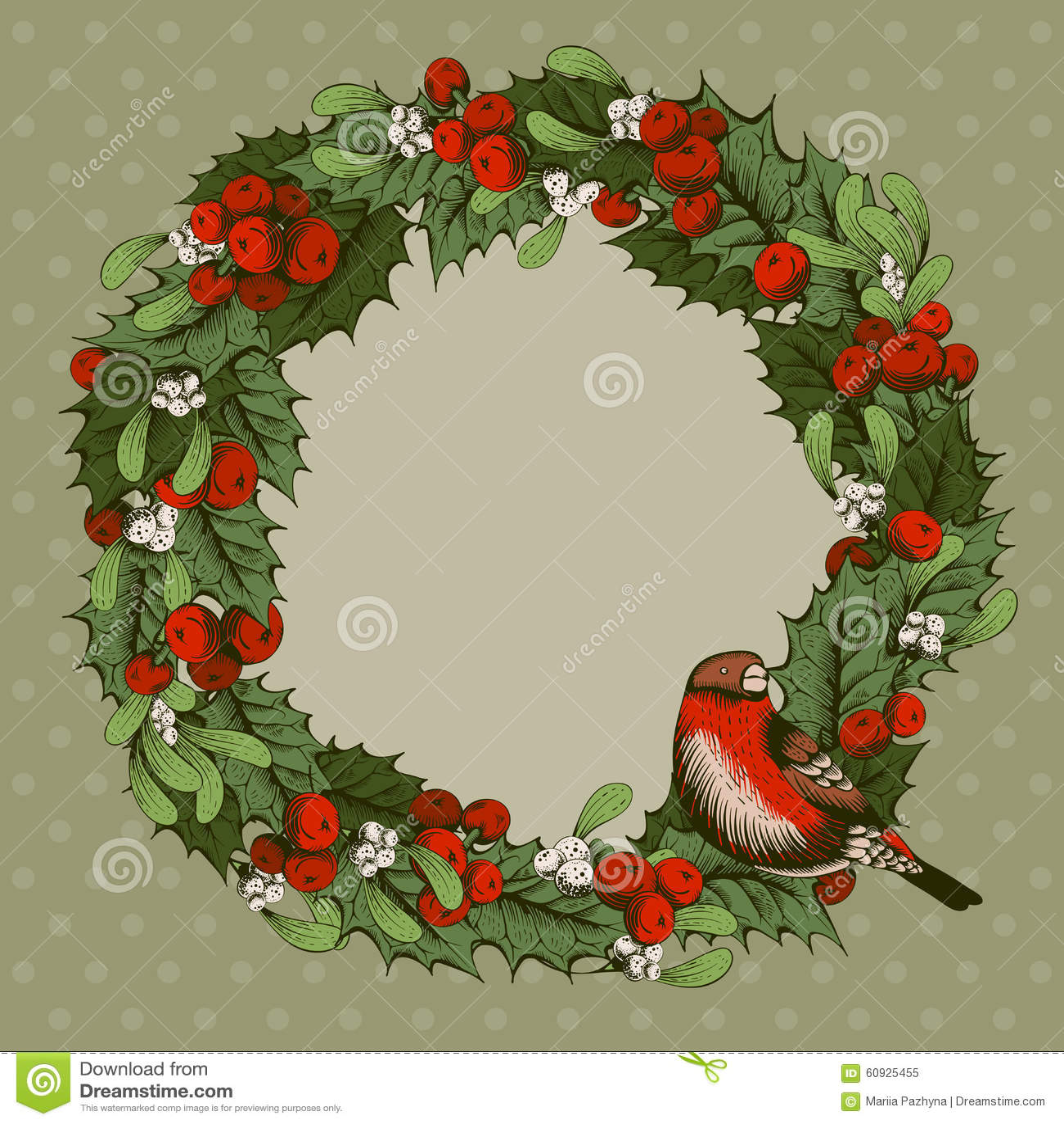 De decoratie van kerstmis vector illustratie afbeelding bestaande uit tekening 60925455 - Decoratie van de villas ...
