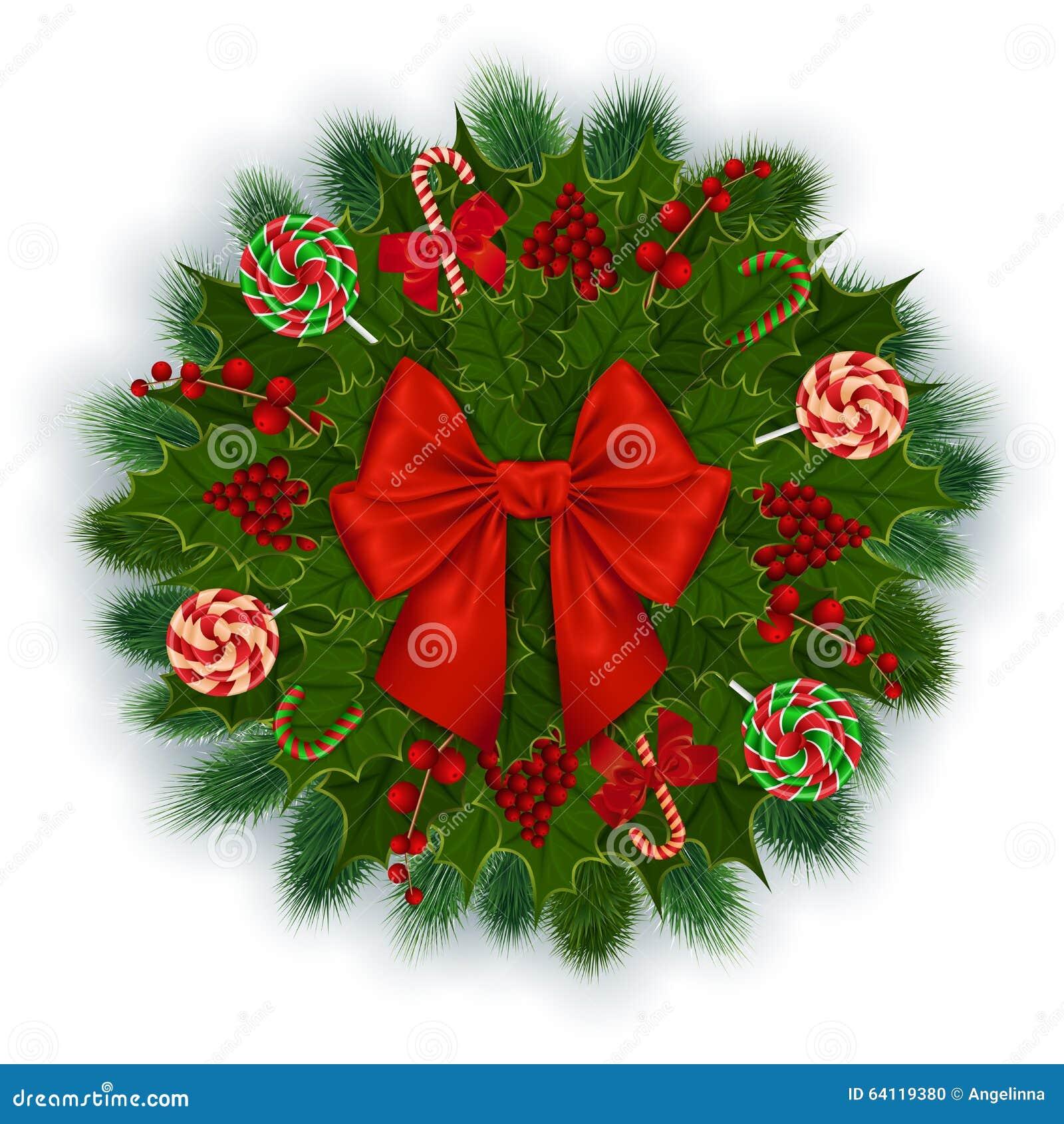 De decoratie van kerstmis vector illustratie afbeelding 64119380 - Decoratie van de kamers van de meiden ...
