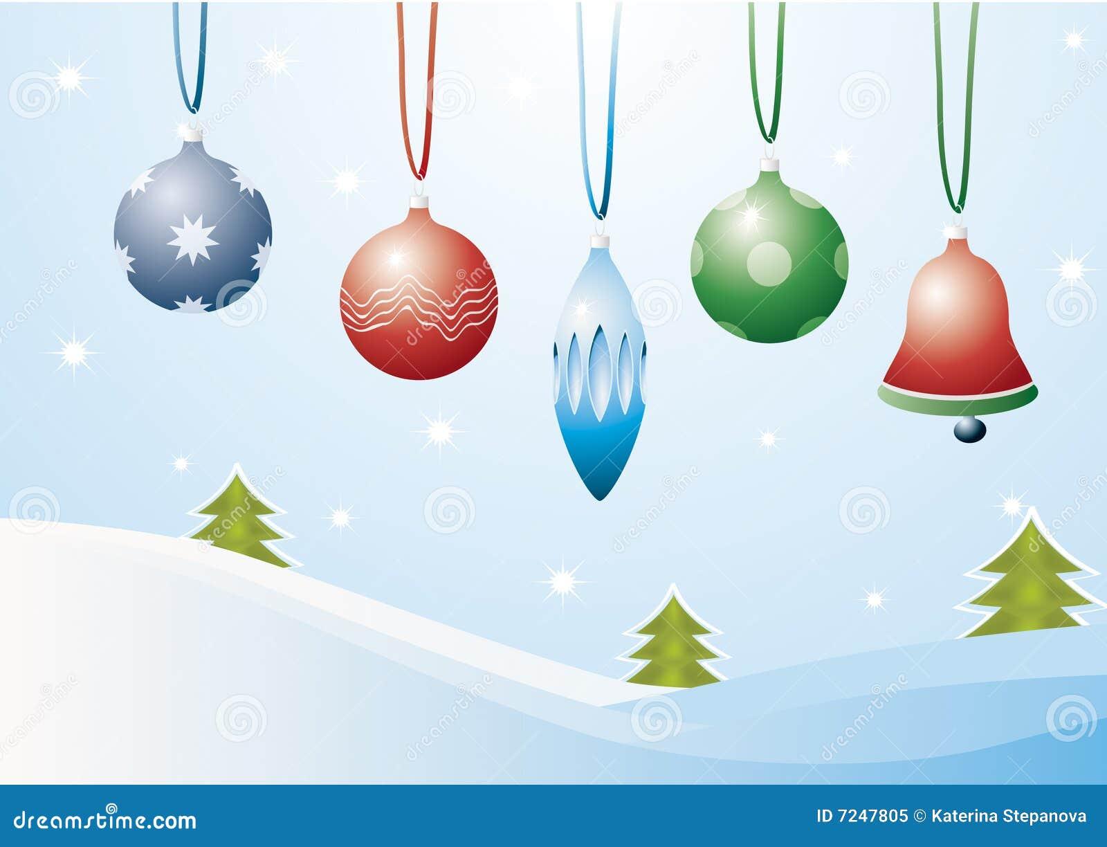 De decoratie van kerstmis vector illustratie afbeelding bestaande uit blauw 7247805 - Foto decoratie ...