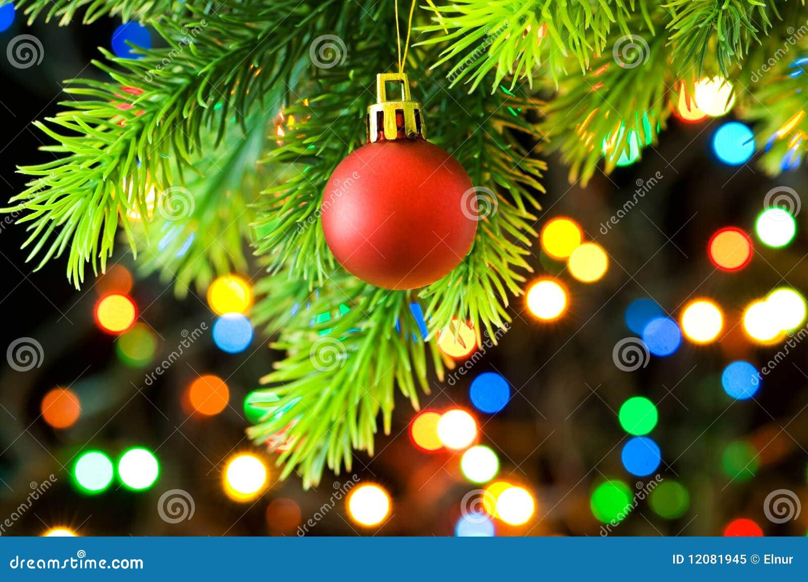 De decoratie van kerstmis en vage lichten royalty vrije stock foto afbeelding 12081945 - Decoratie geel ...