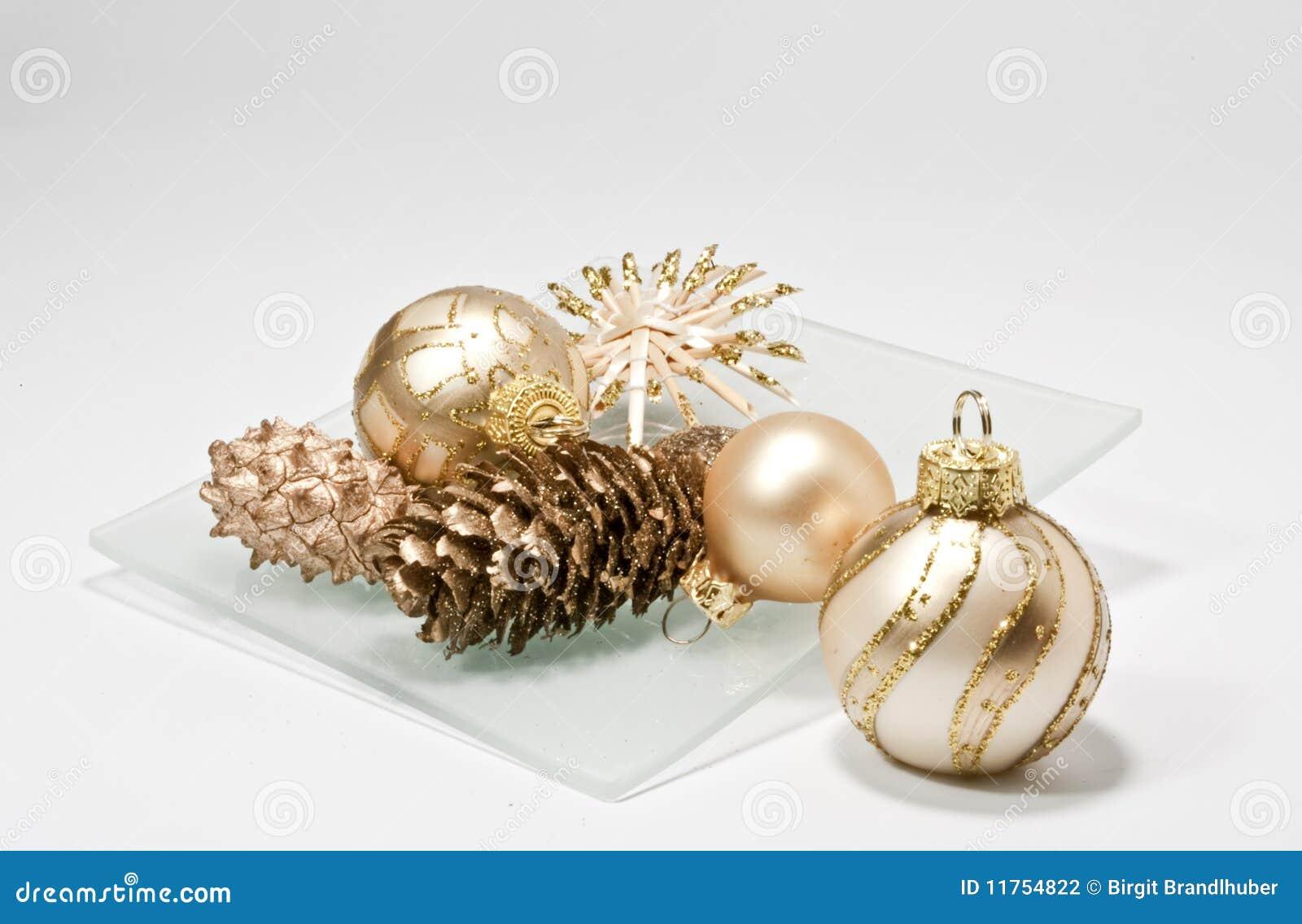 De decoratie van kerstmis op een glasplaat stock fotografie afbeelding 11754822 - Decoratie van de villas ...