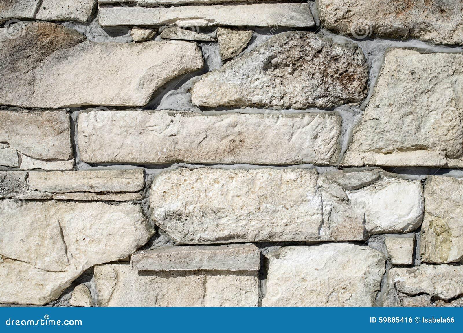De decoratieve plakken die van de hulpbekleding stenen op muur ...
