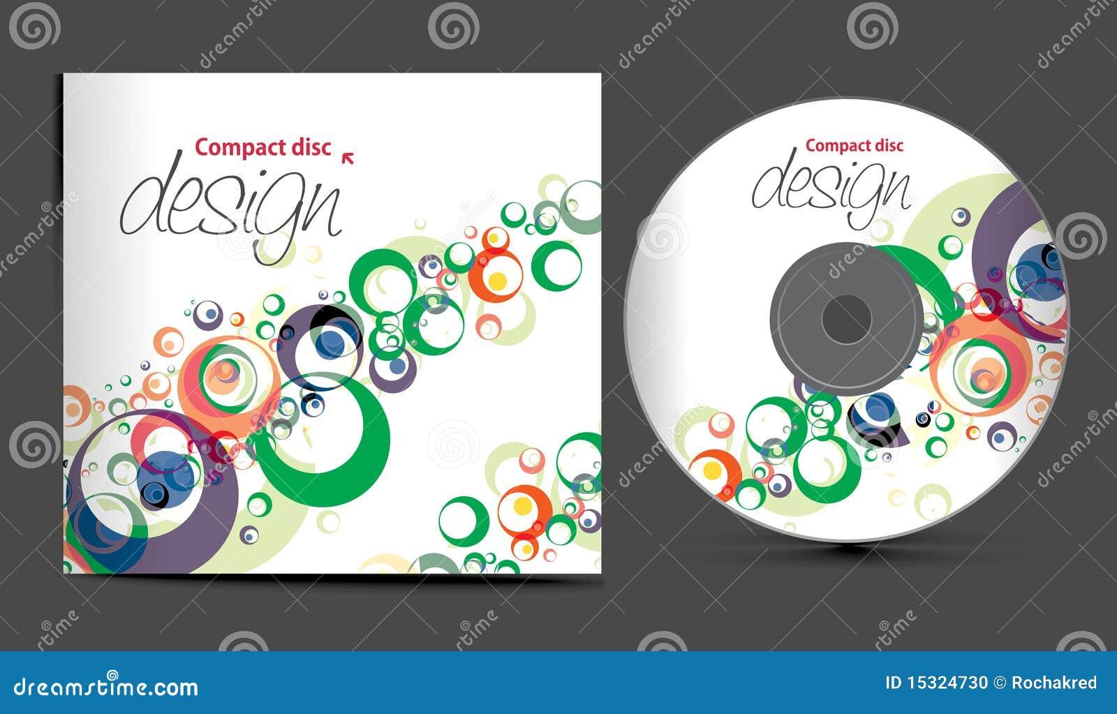 De dekkingsontwerp van CD