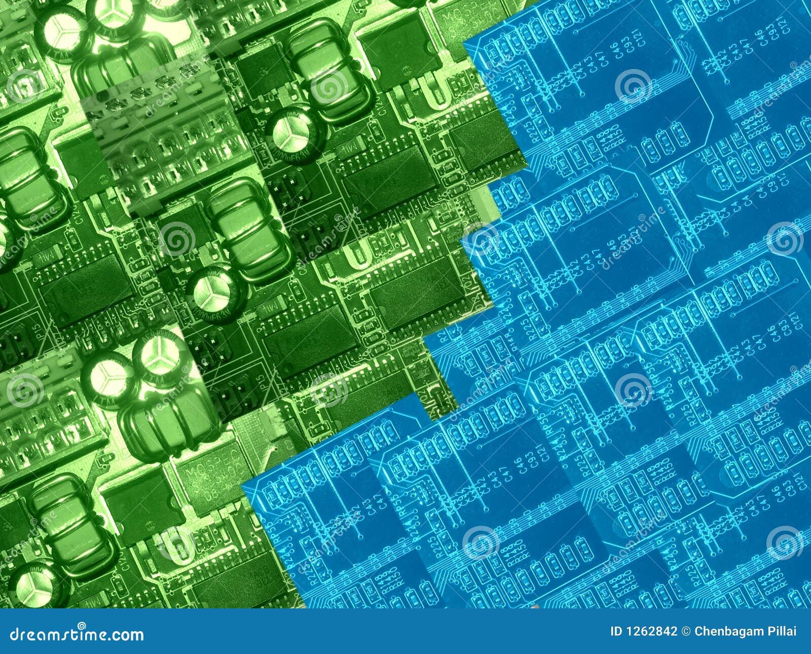De delen van de computer