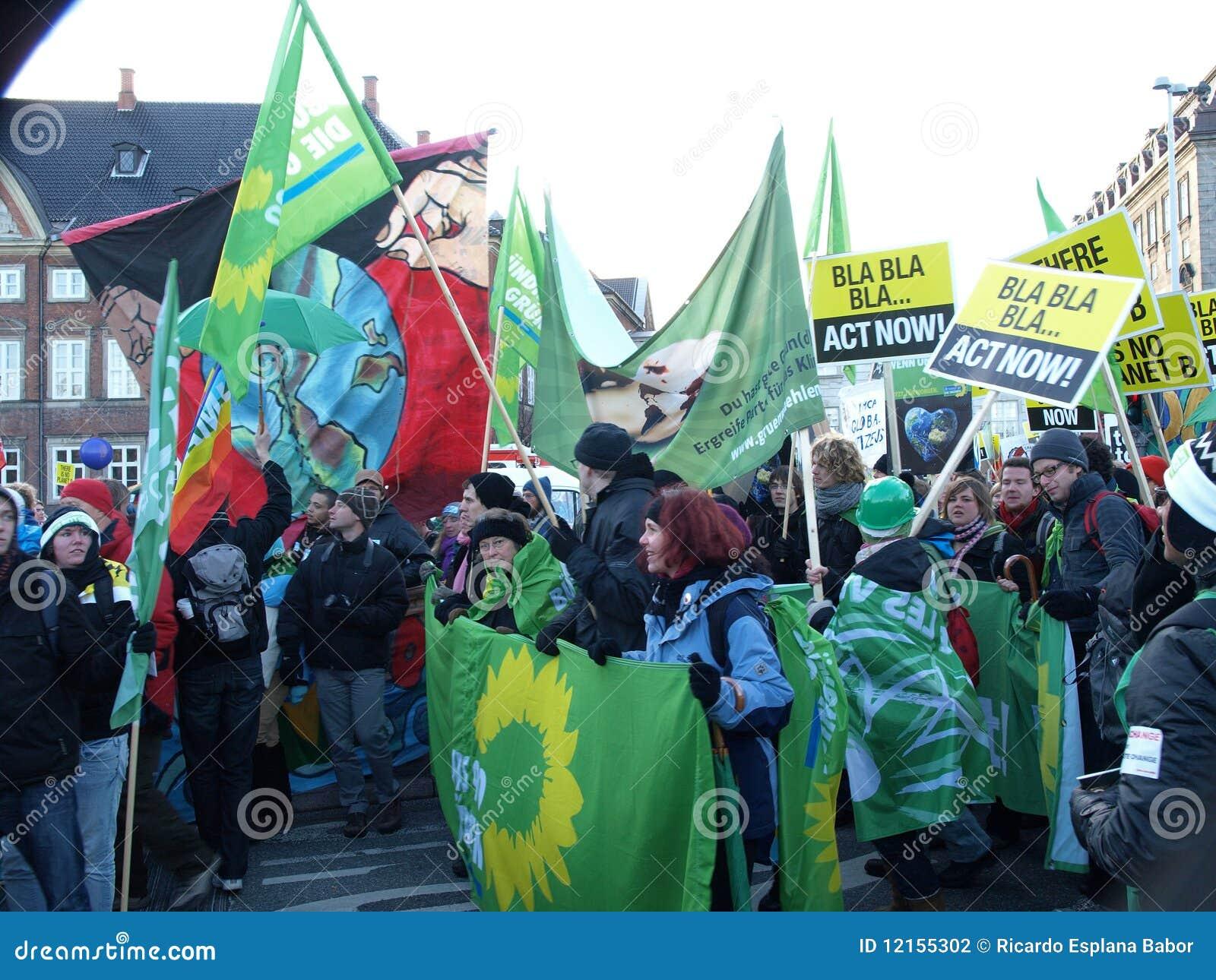 De Demonstratie van de Verandering van het Klimaat van de V.N.