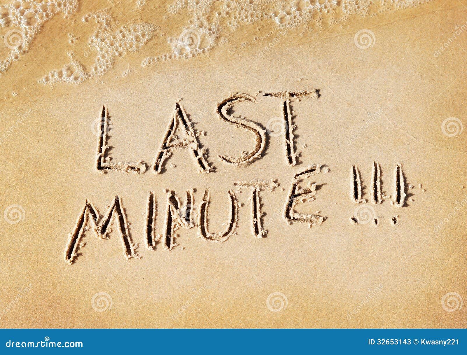 De dernière minute