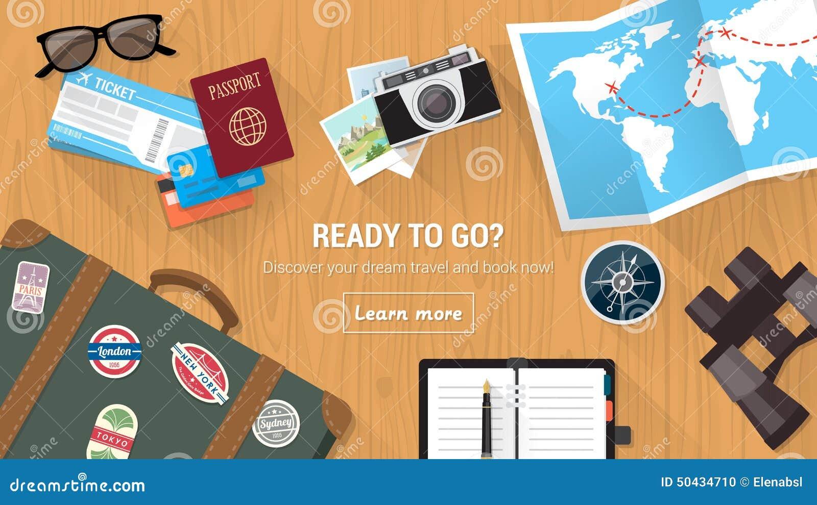 De Desktop van de reiziger