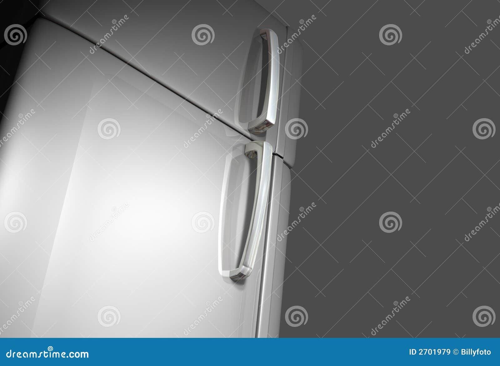 De deur van de ijskast