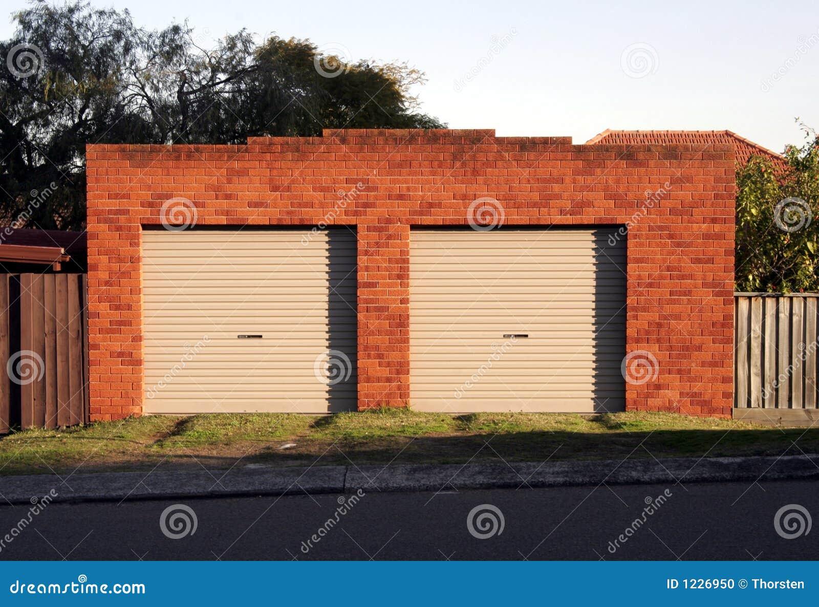 De Deuren van de garage