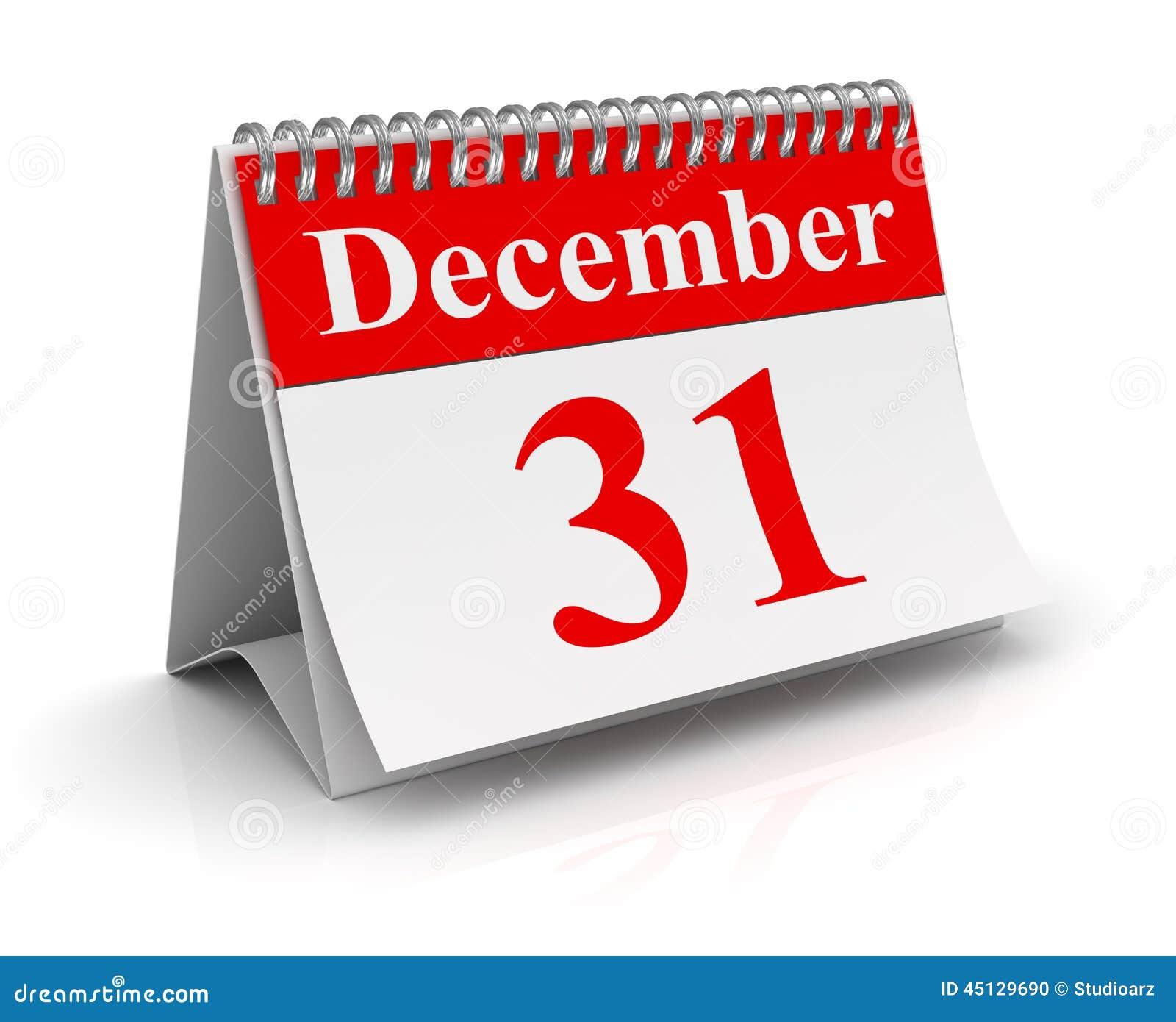 31 de dezembro