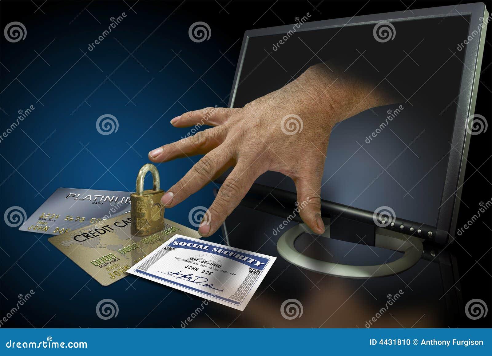 De diefstal van de identiteit op het Web