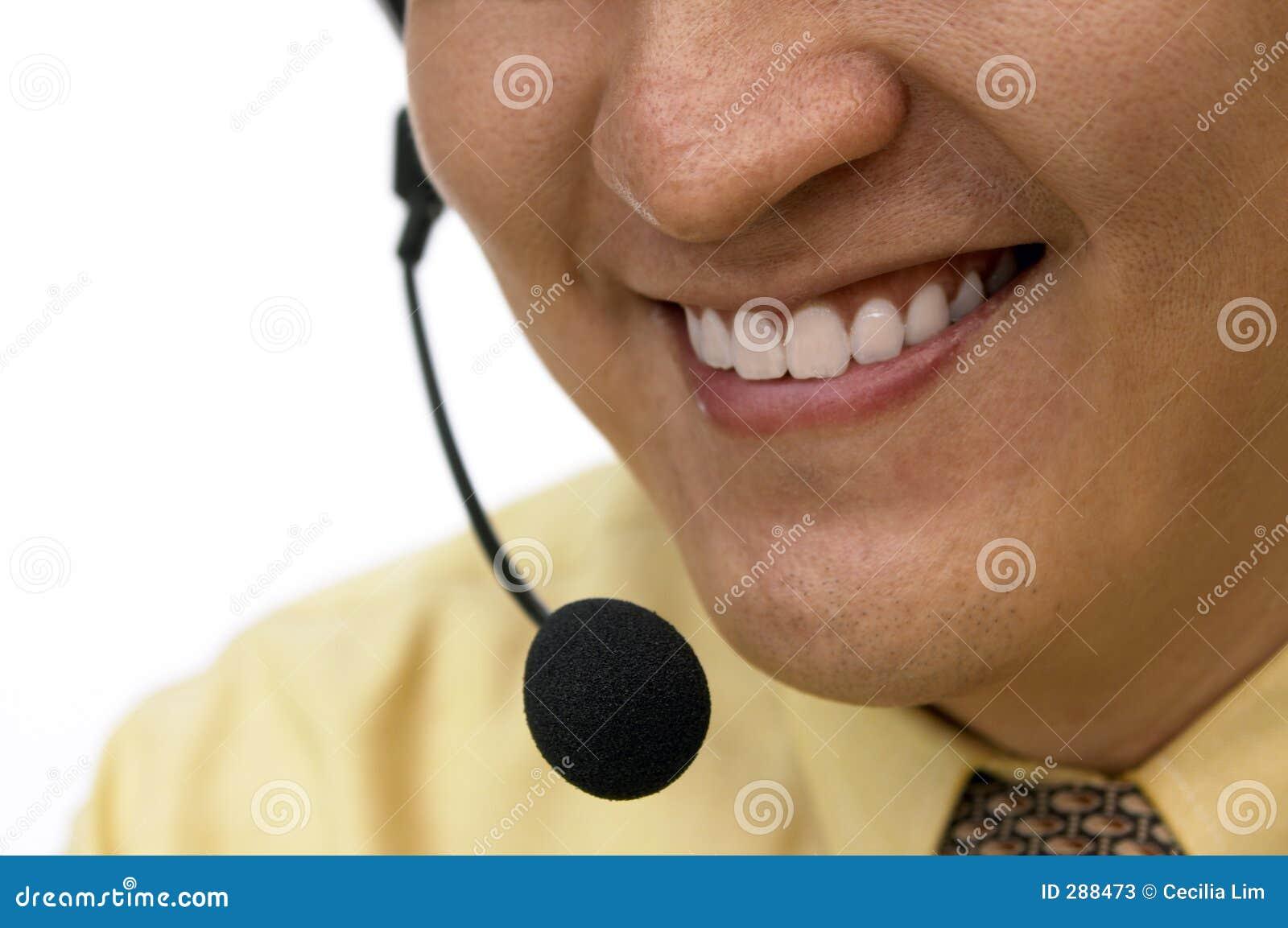 De dienst met een Glimlach