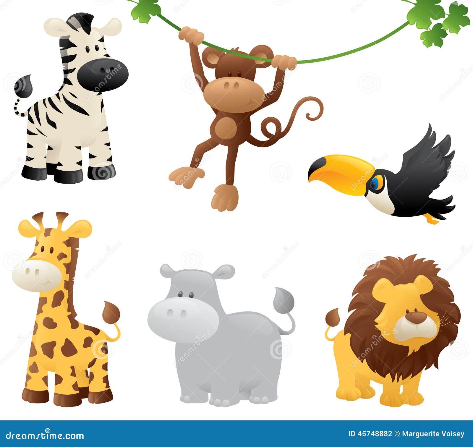 De Dieren van de wildernis