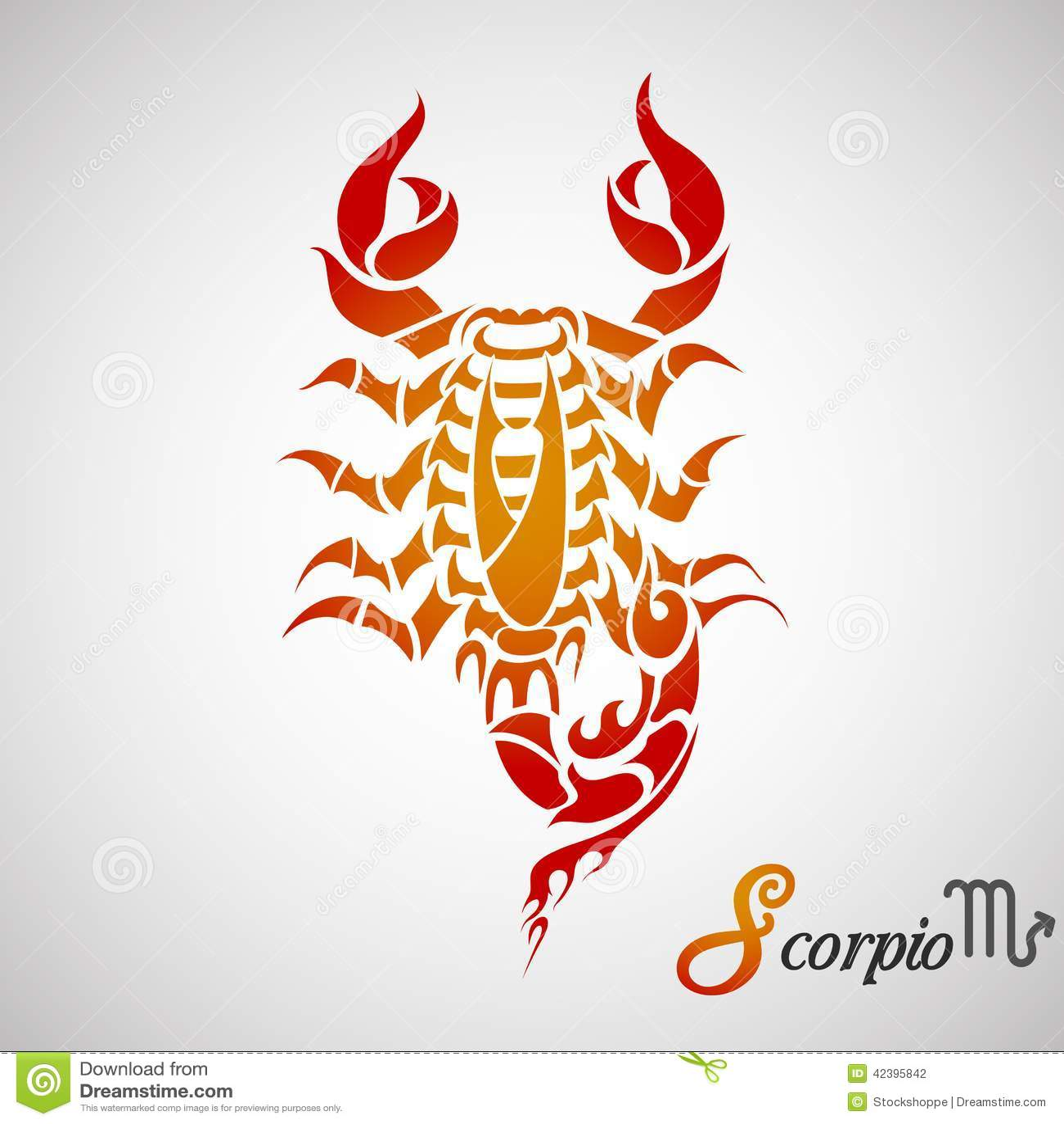 De dierenriemteken van Schorpioen