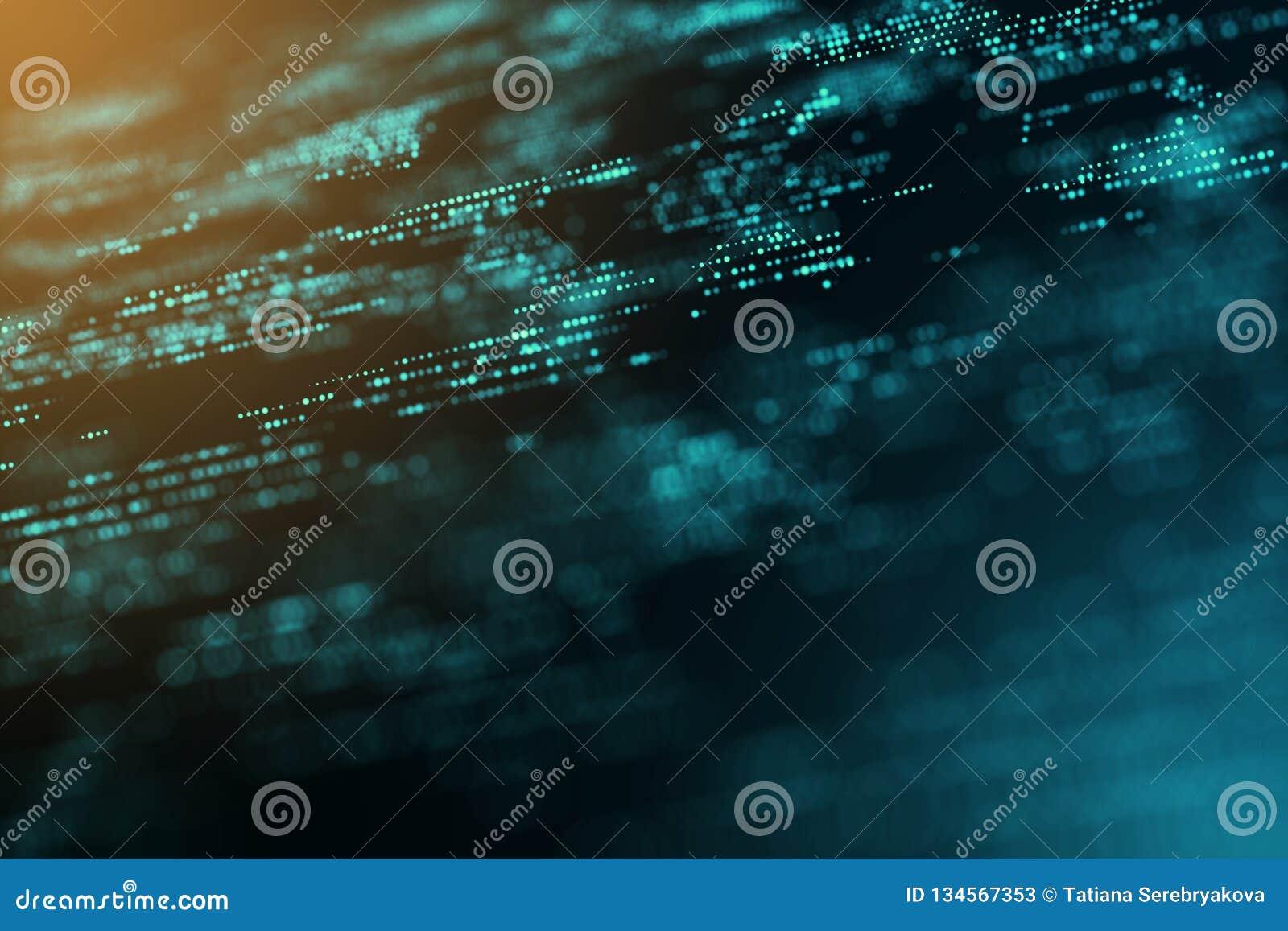 De digitale grafische computer geproduceerde achtergrond van het het exemplaar ruimteonduidelijke beeld van de energiemotie