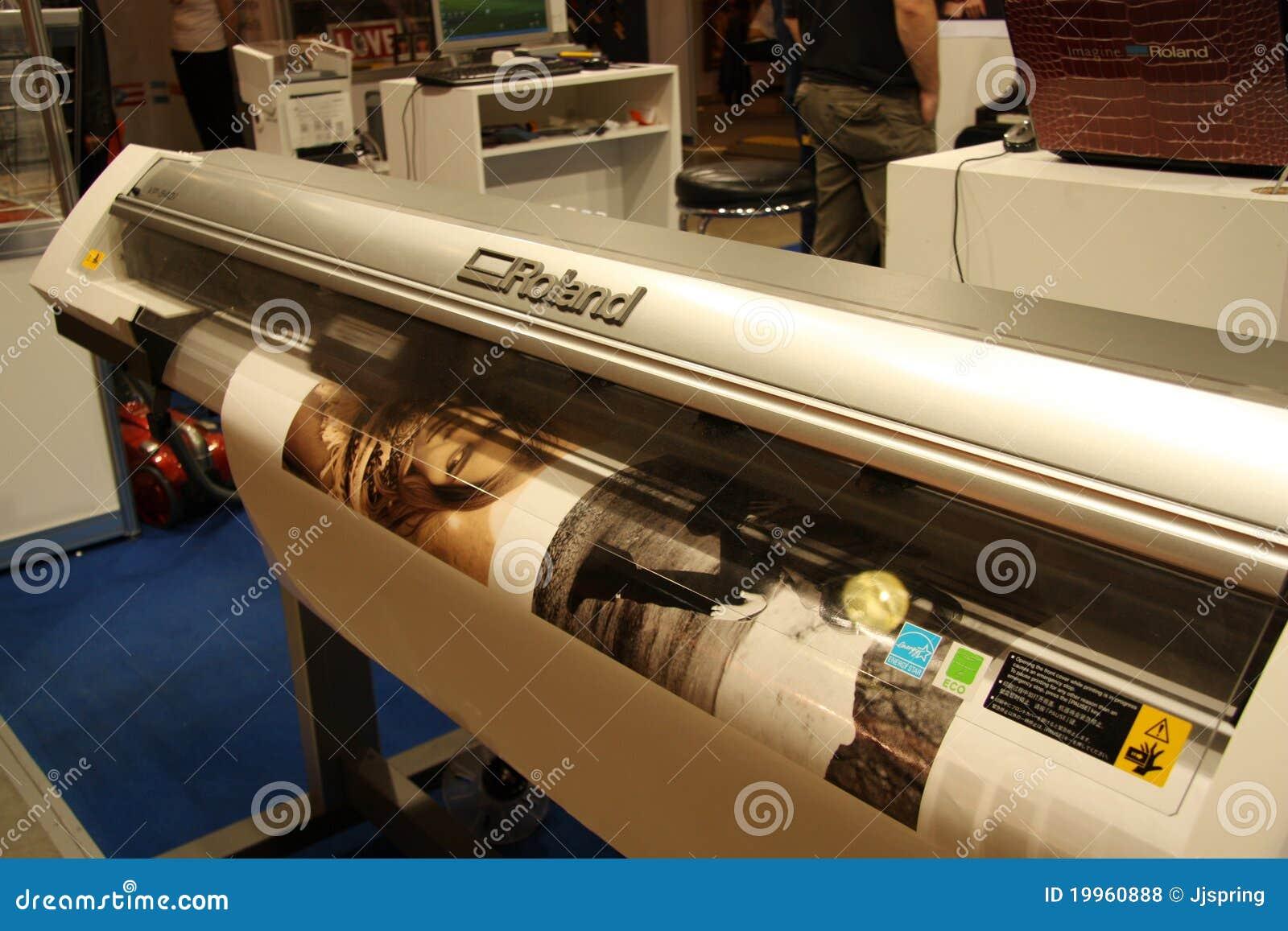 De Digitale Printer van het grote Formaat - Roland