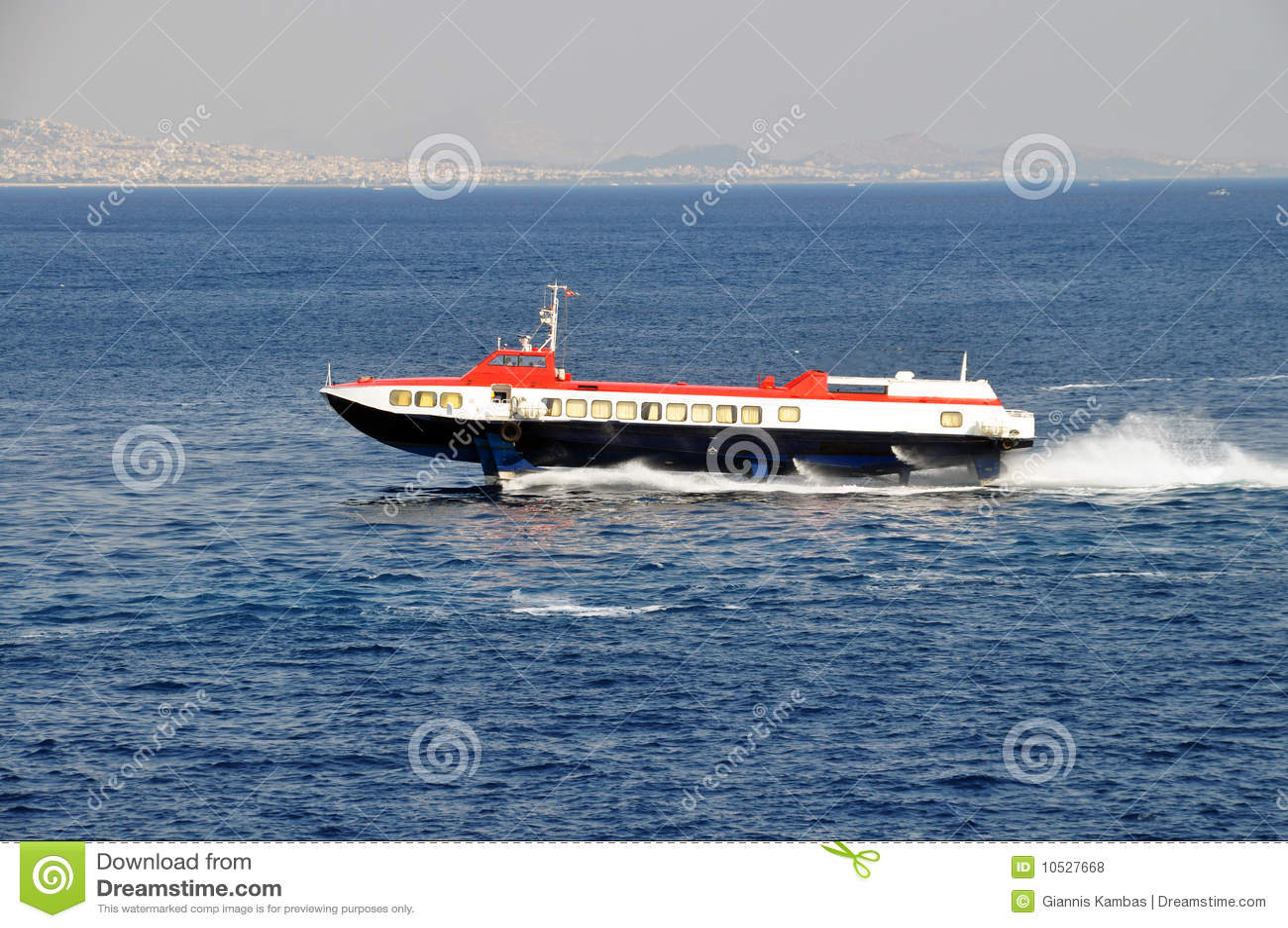 De dolfijnboot van Hispeed