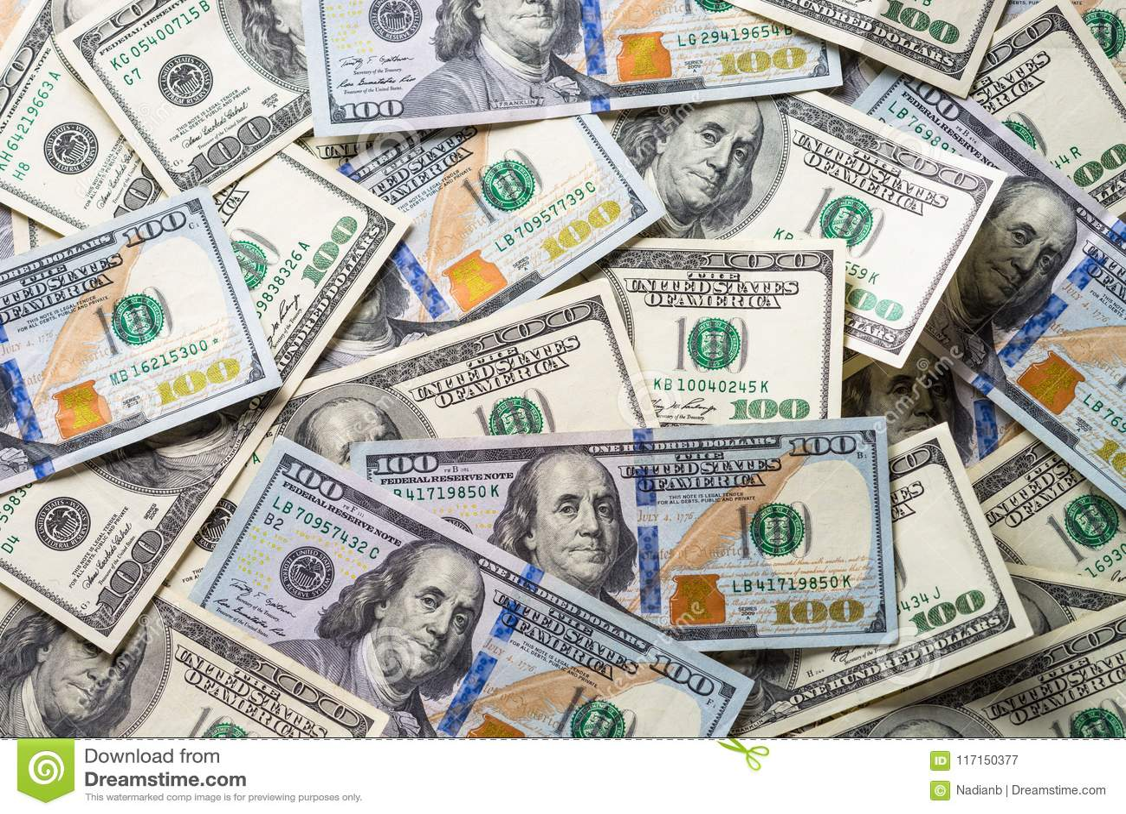 De dollar van het contant geldgeld